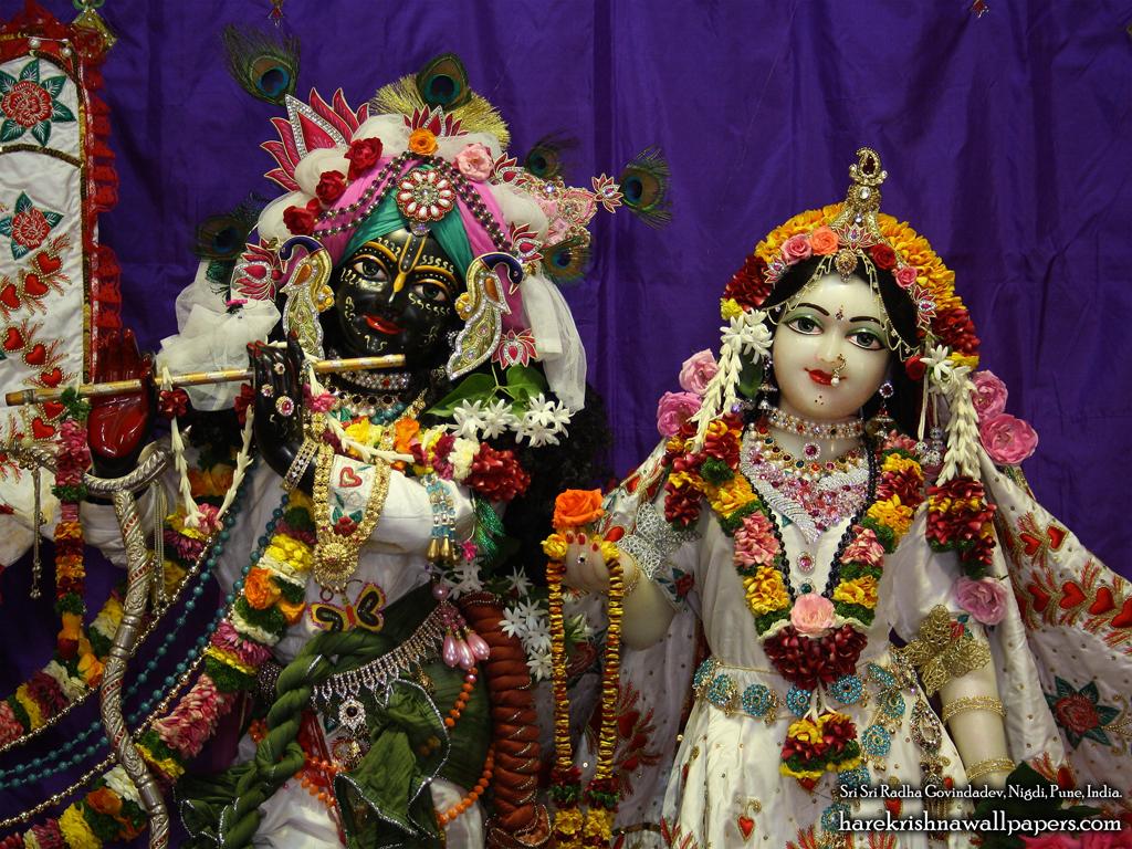 Sri Sri Radha Govind Close up Wallpaper (007) Size 1024x768 Download