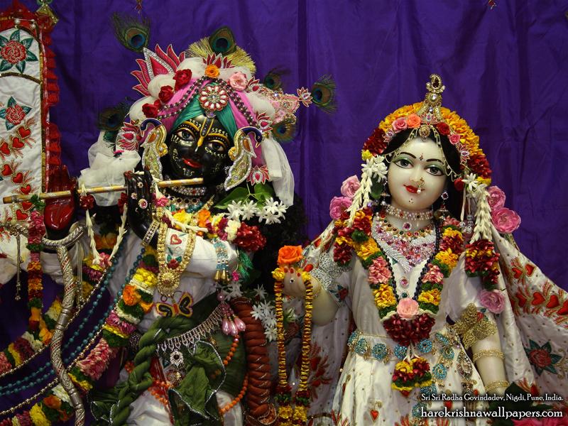 Sri Sri Radha Govind Close up Wallpaper (007) Size 800x600 Download