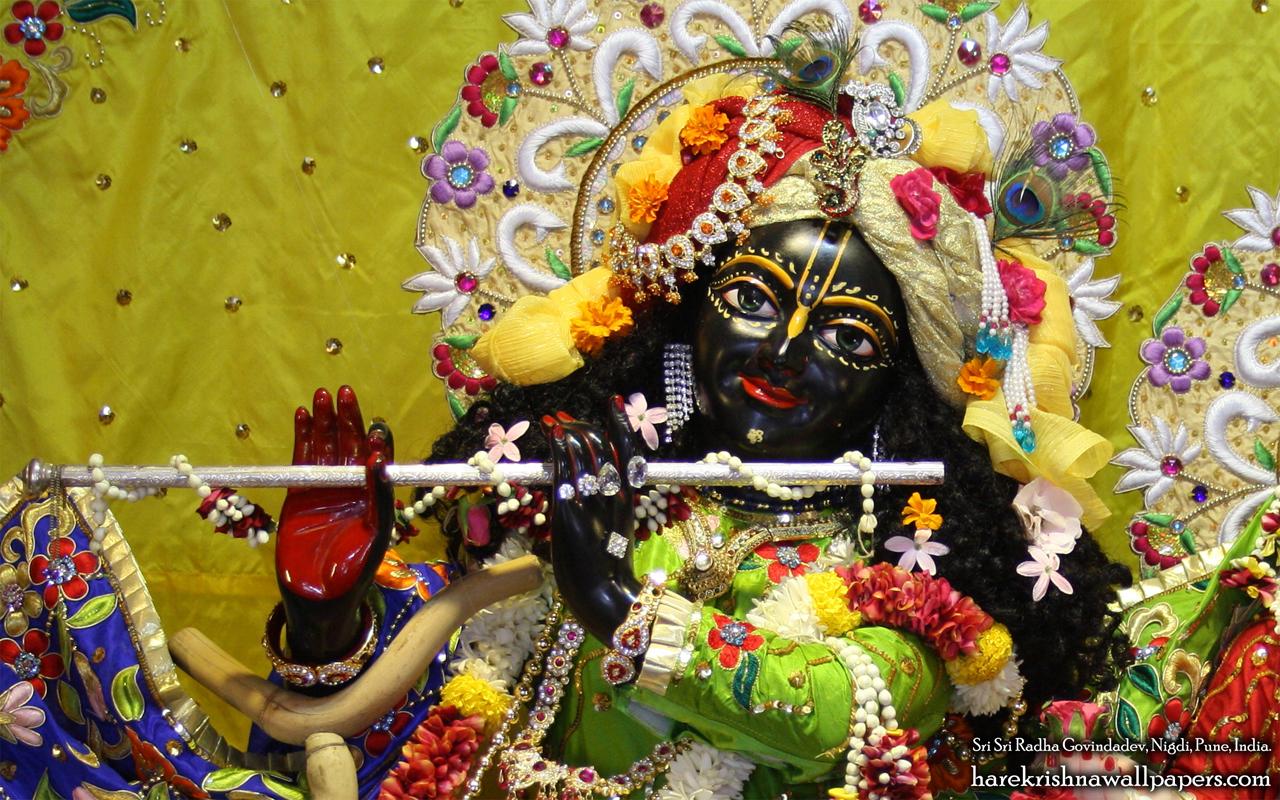 Sri Govind Close up Wallpaper (008) Size 1280x800 Download