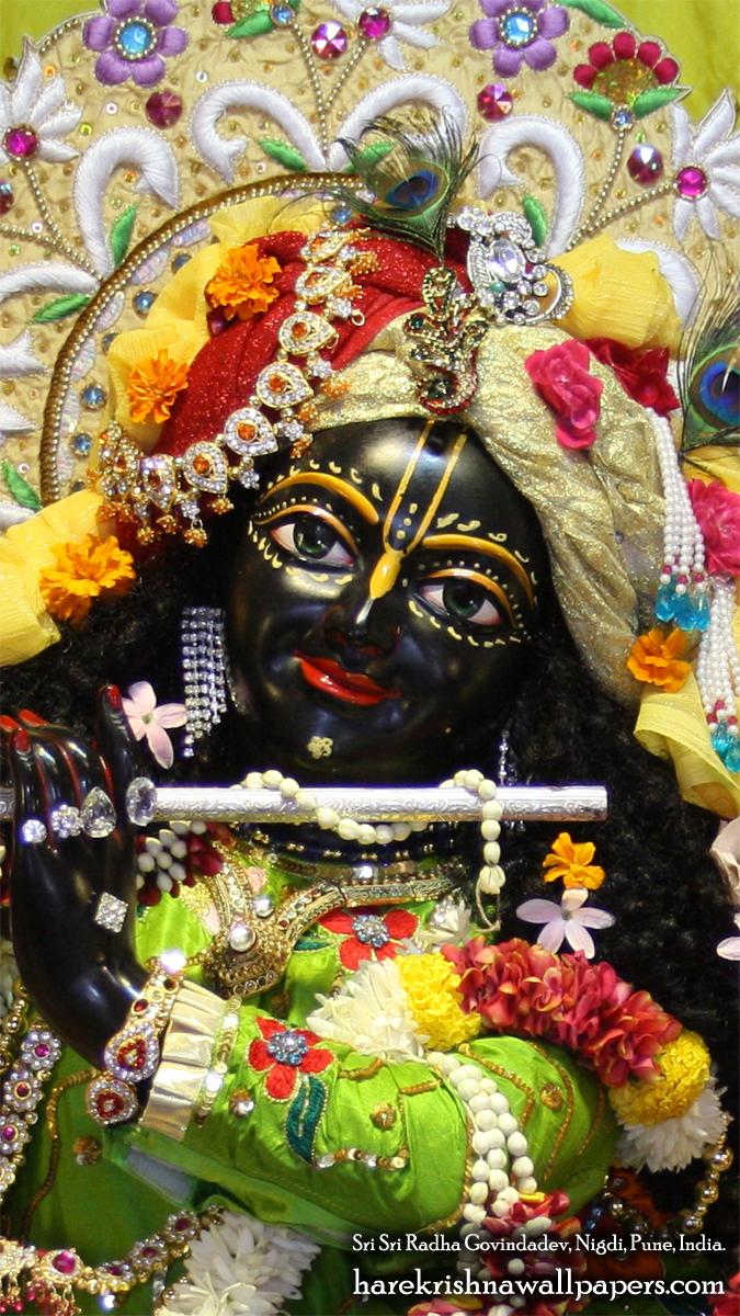 Sri Govind Close up Wallpaper (008) Size 675x1200 Download
