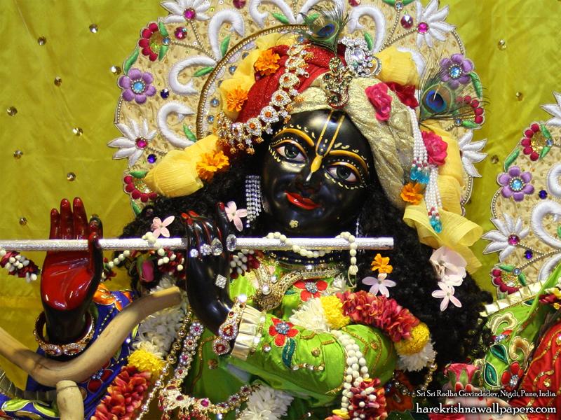 Sri Govind Close up Wallpaper (008) Size 800x600 Download