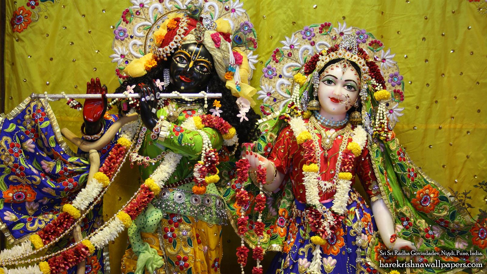 Sri Sri Radha Govind Close up Wallpaper (008) Size 1600x900 Download