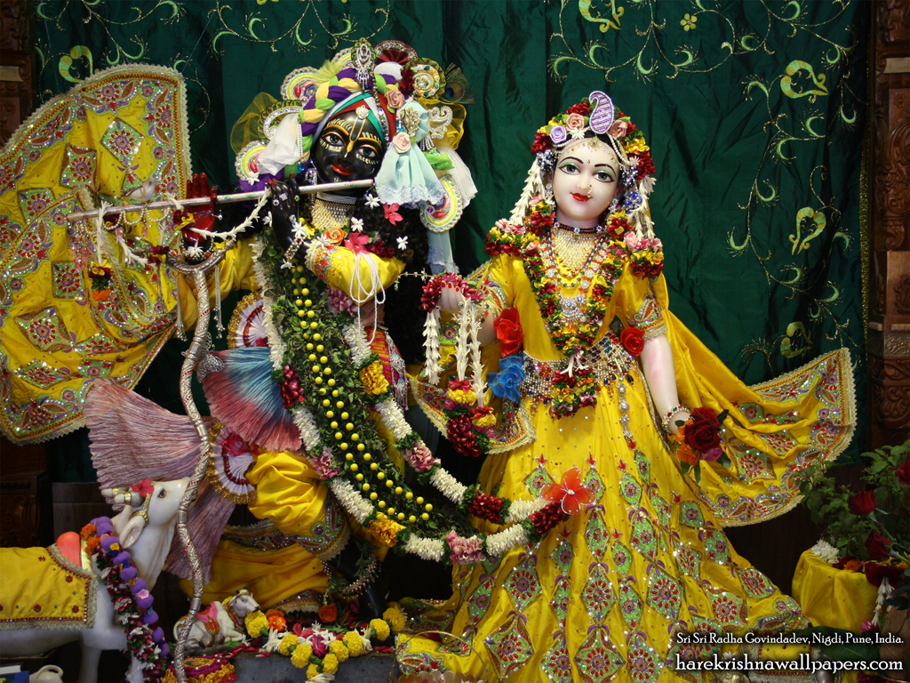 Sri Sri Radha Govind Wallpaper (009) Size 1024x768 Download