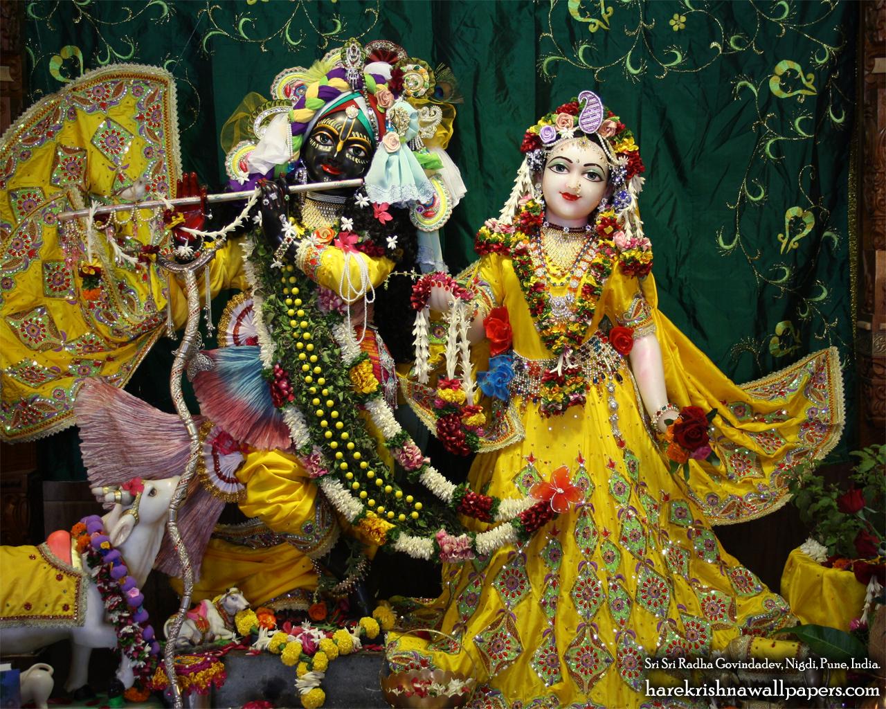 Sri Sri Radha Govind Wallpaper (009) Size 1280x1024 Download