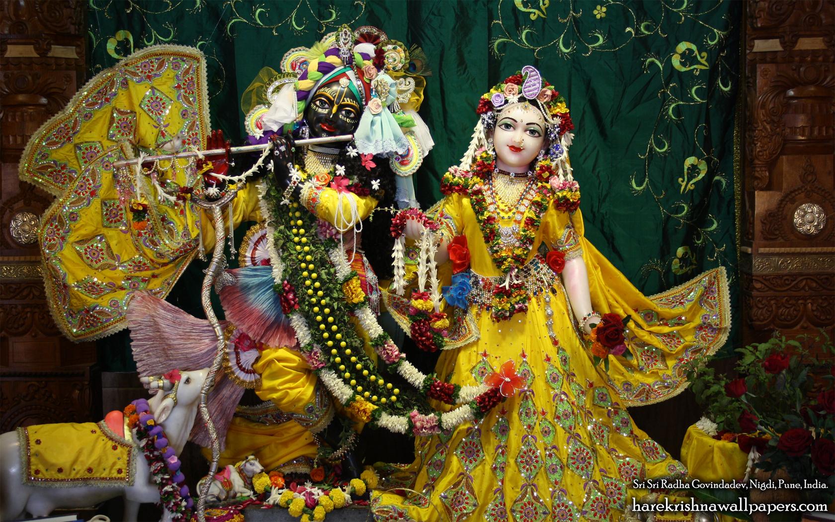 Sri Sri Radha Govind Wallpaper (009) Size 1680x1050 Download