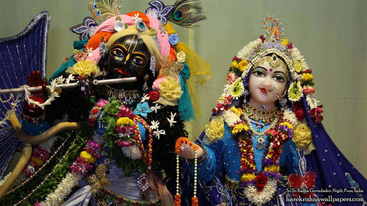 Sri Sri Radha Govind Close up Wallpaper (009) Size 1280x720 Download