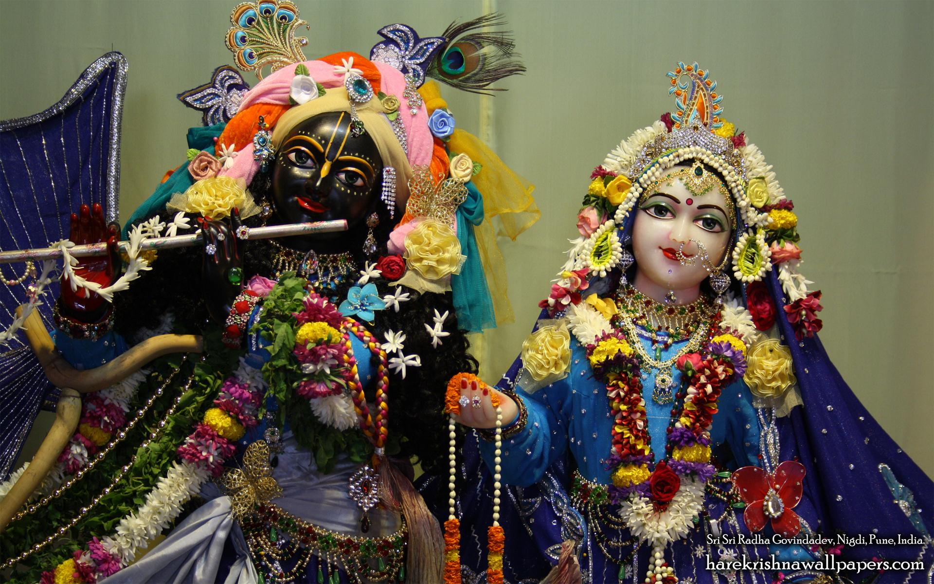 Sri Sri Radha Govind Close up Wallpaper (009) Size 1920x1200 Download