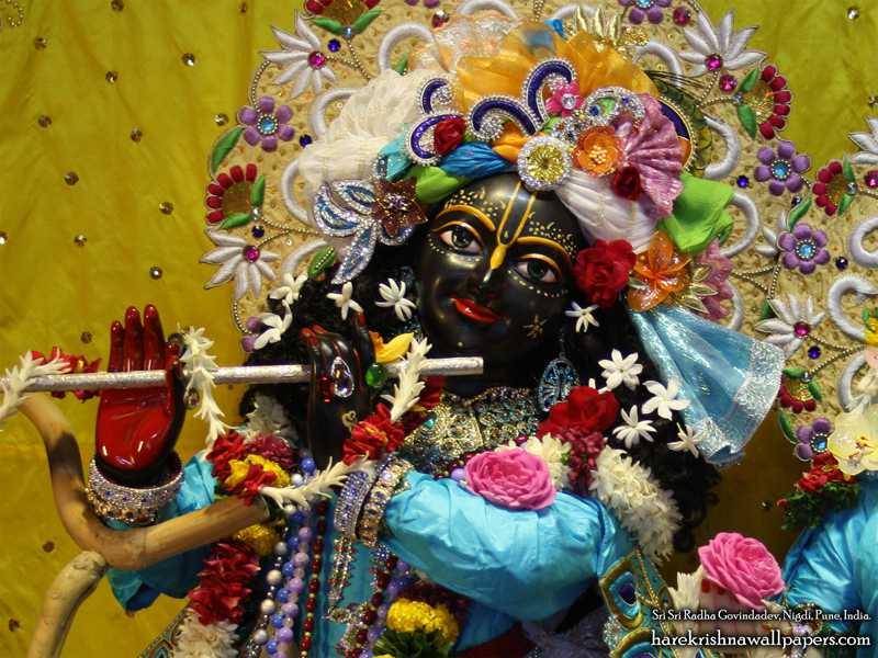 Sri Govind Close up Wallpaper (010)