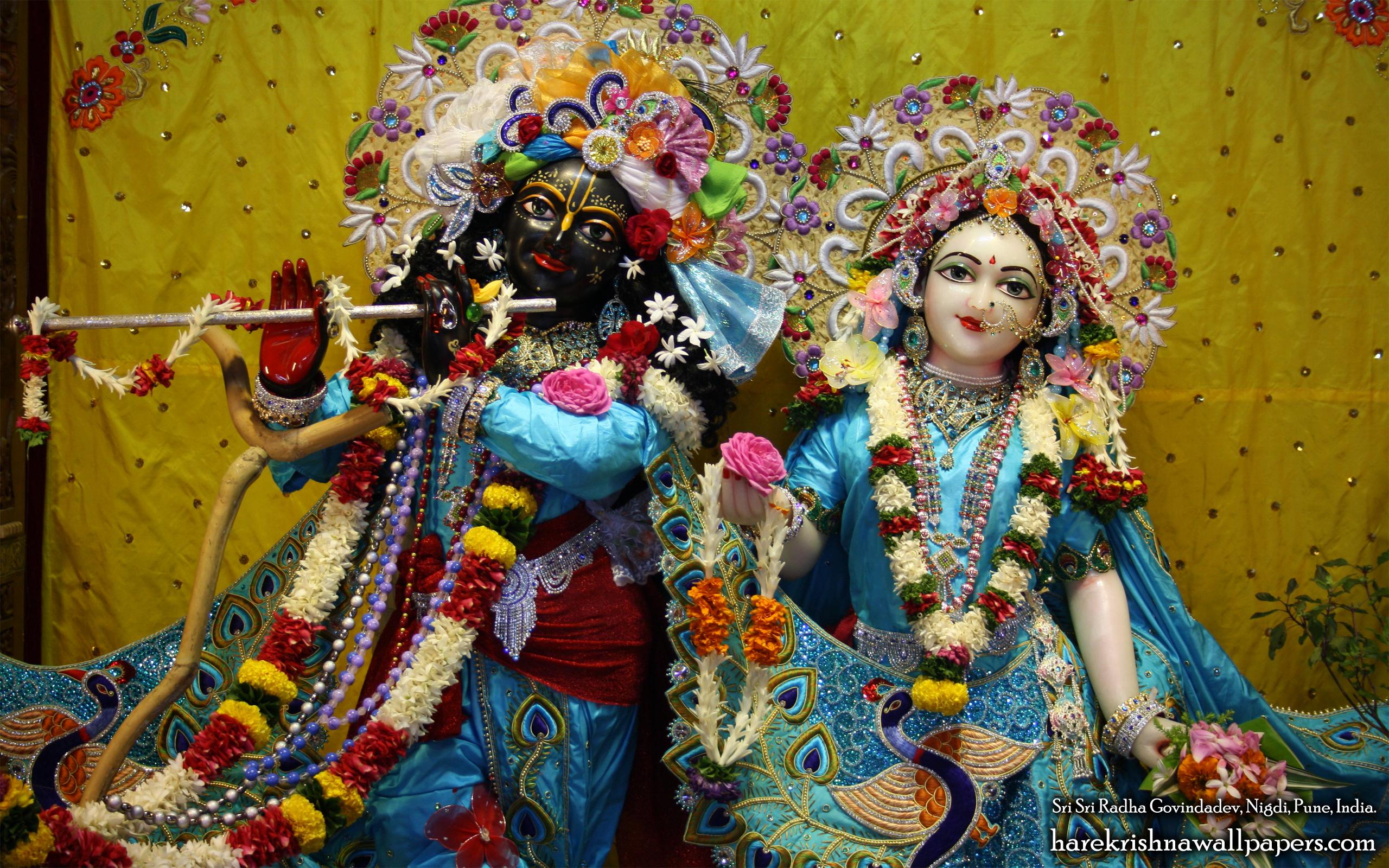 Sri Sri Radha Govind Close up Wallpaper (010) Size 2560x1600 Download