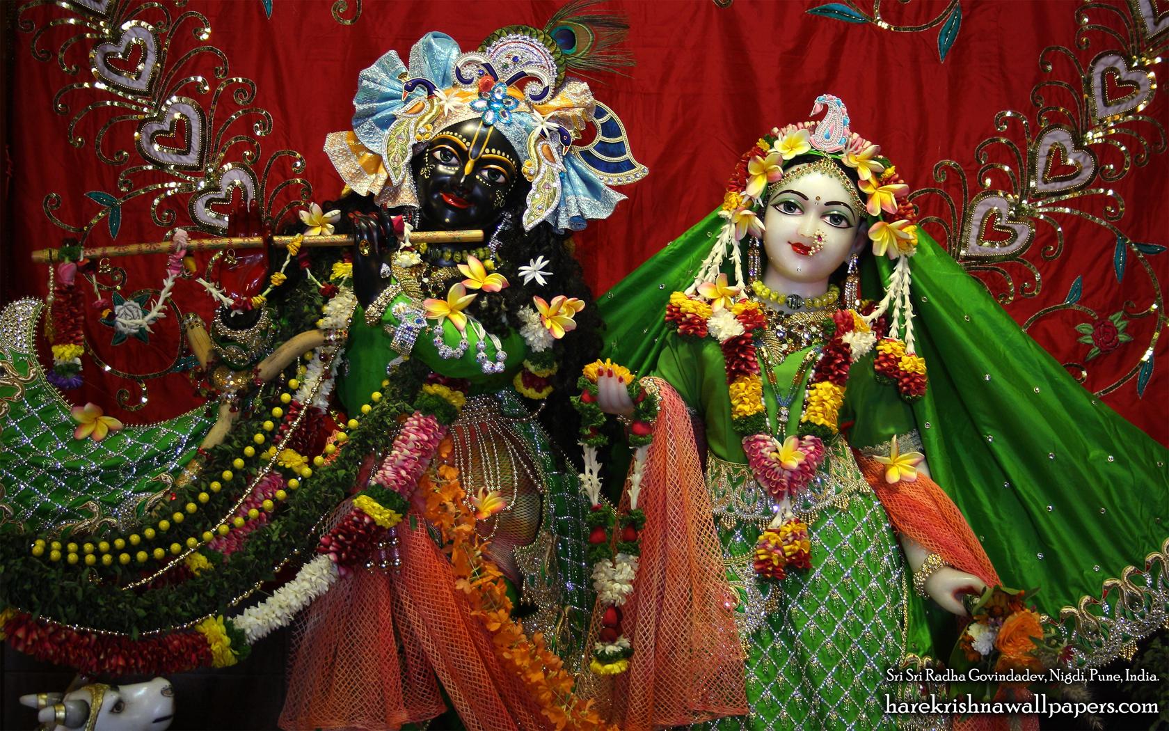 Sri Sri Radha Govind Close up Wallpaper (011) Size 1680x1050 Download