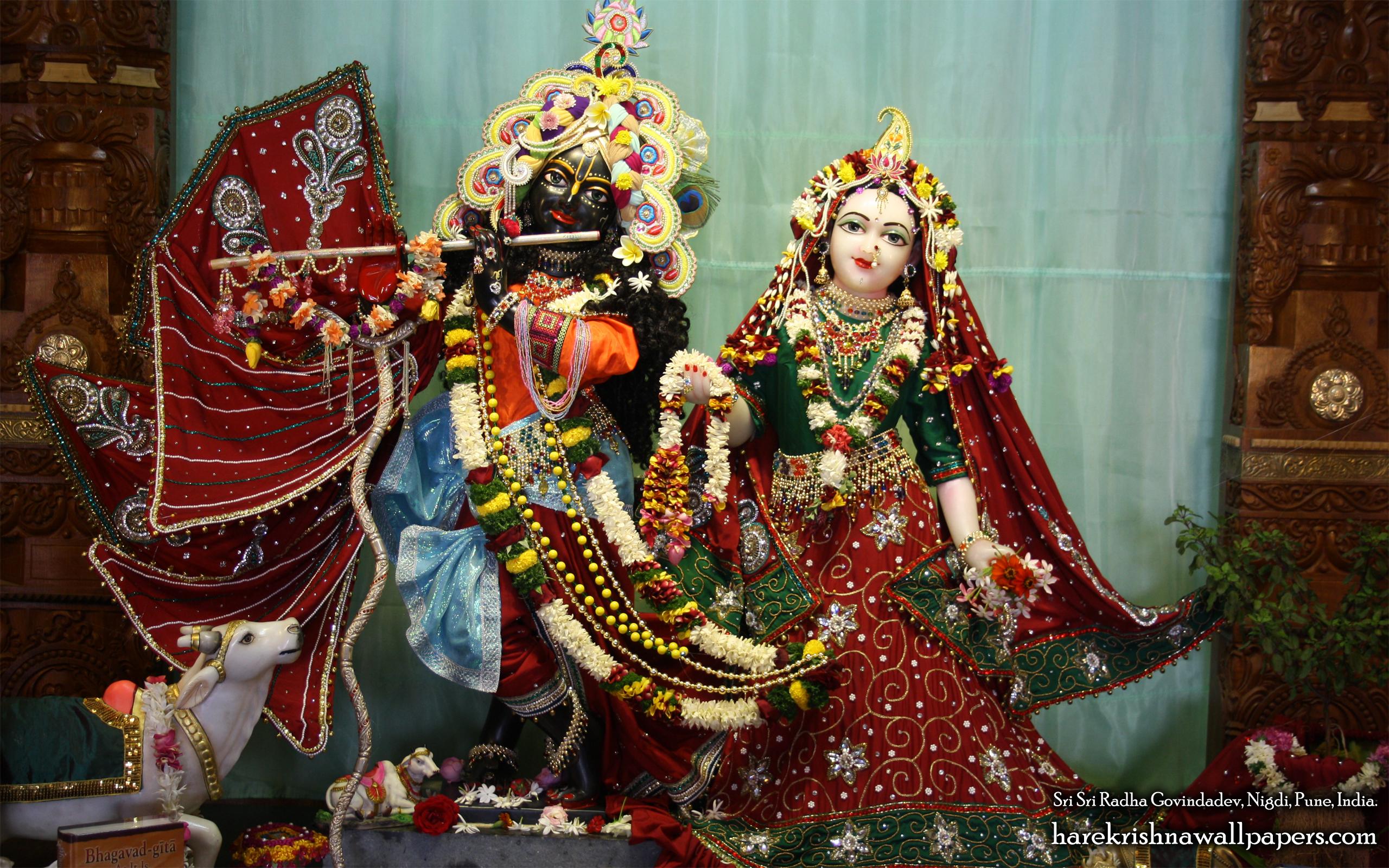Sri Sri Radha Govind Wallpaper (012) Size 2560x1600 Download