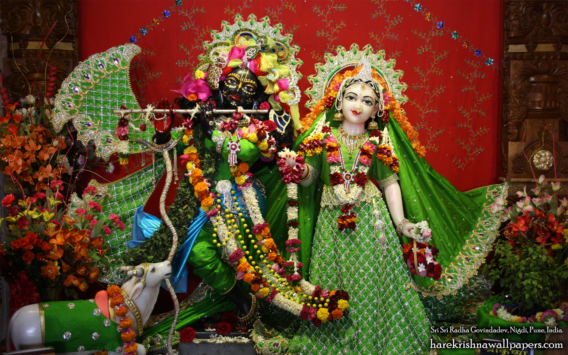 Sri Sri Radha Govind Wallpaper (013) Size 1920x1200 Download