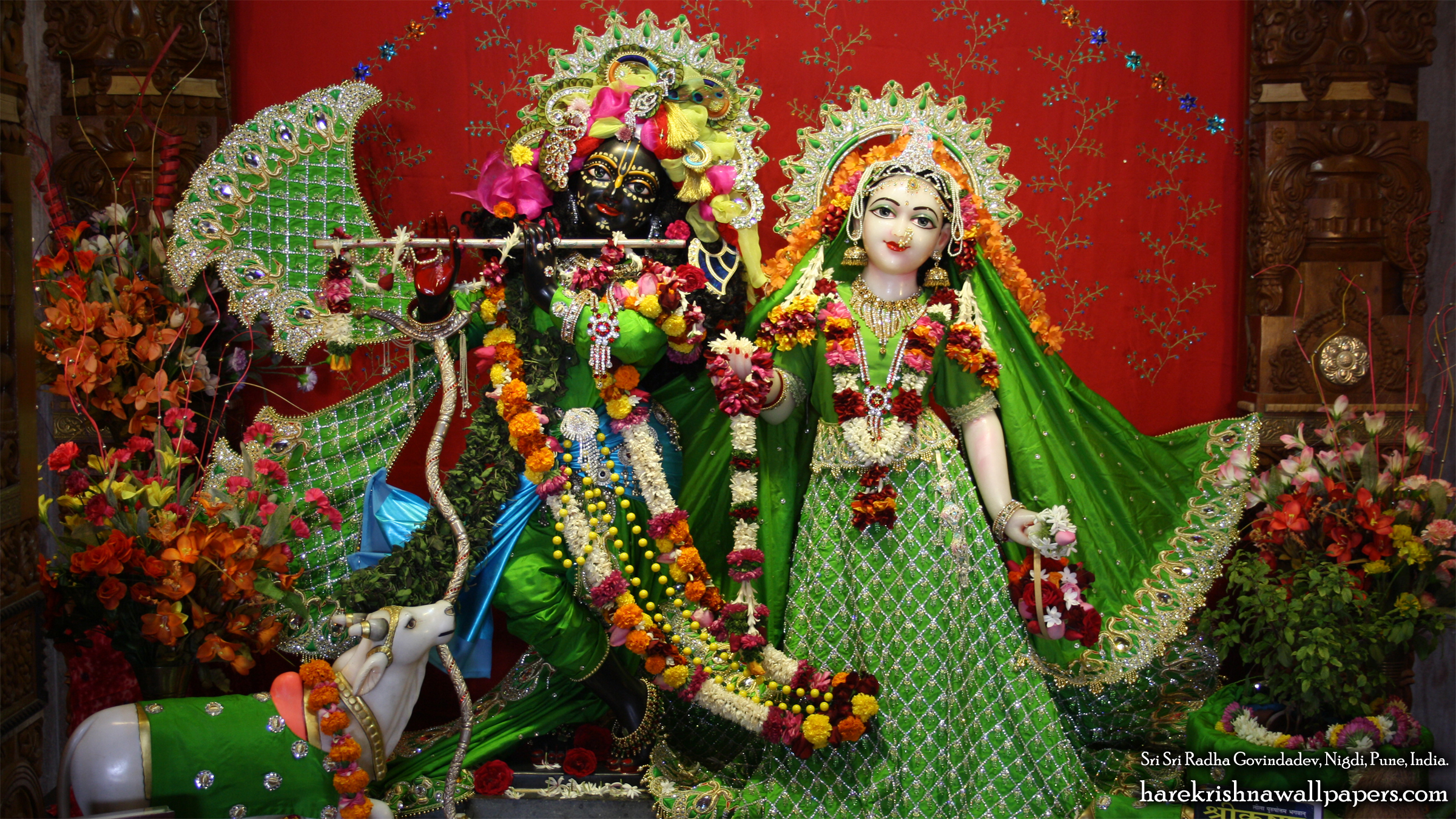 Sri Sri Radha Govind Wallpaper (013) Size 2400x1350 Download