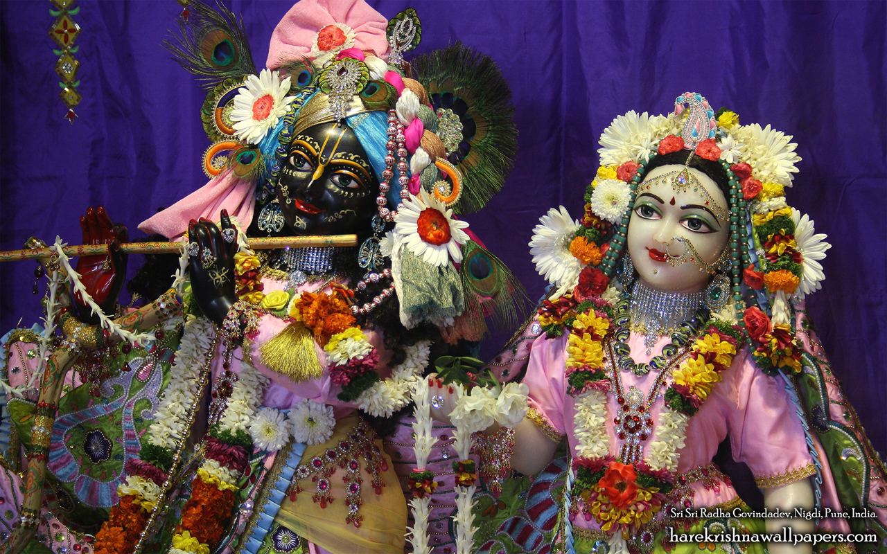 Sri Sri Radha Govind Close up Wallpaper (013) Size 1280x800 Download