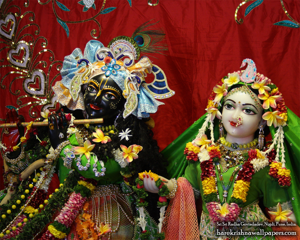 Sri Sri Radha Govind Close up Wallpaper (014) Size 1280x1024 Download