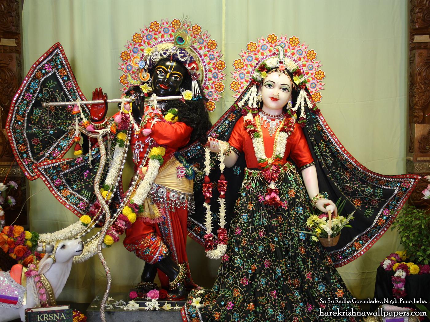Sri Sri Radha Govind Wallpaper (015) Size 1400x1050 Download