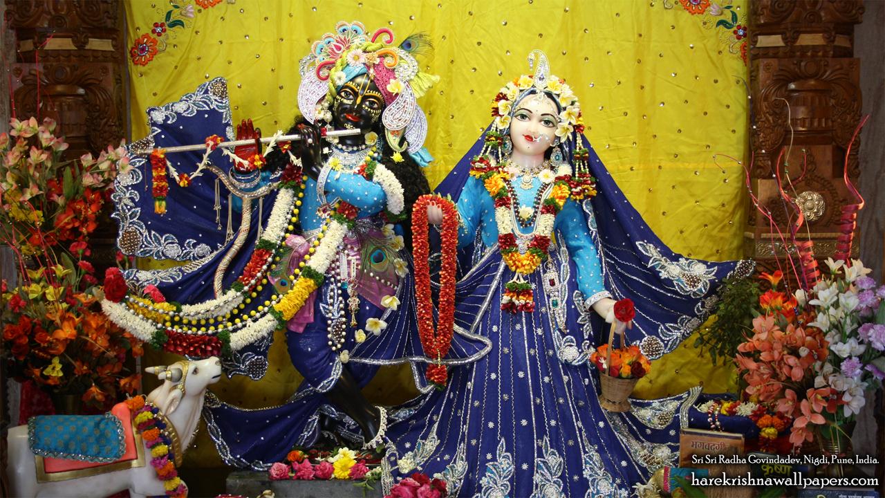 Sri Sri Radha Govind Wallpaper (016) Size 1280x720 Download