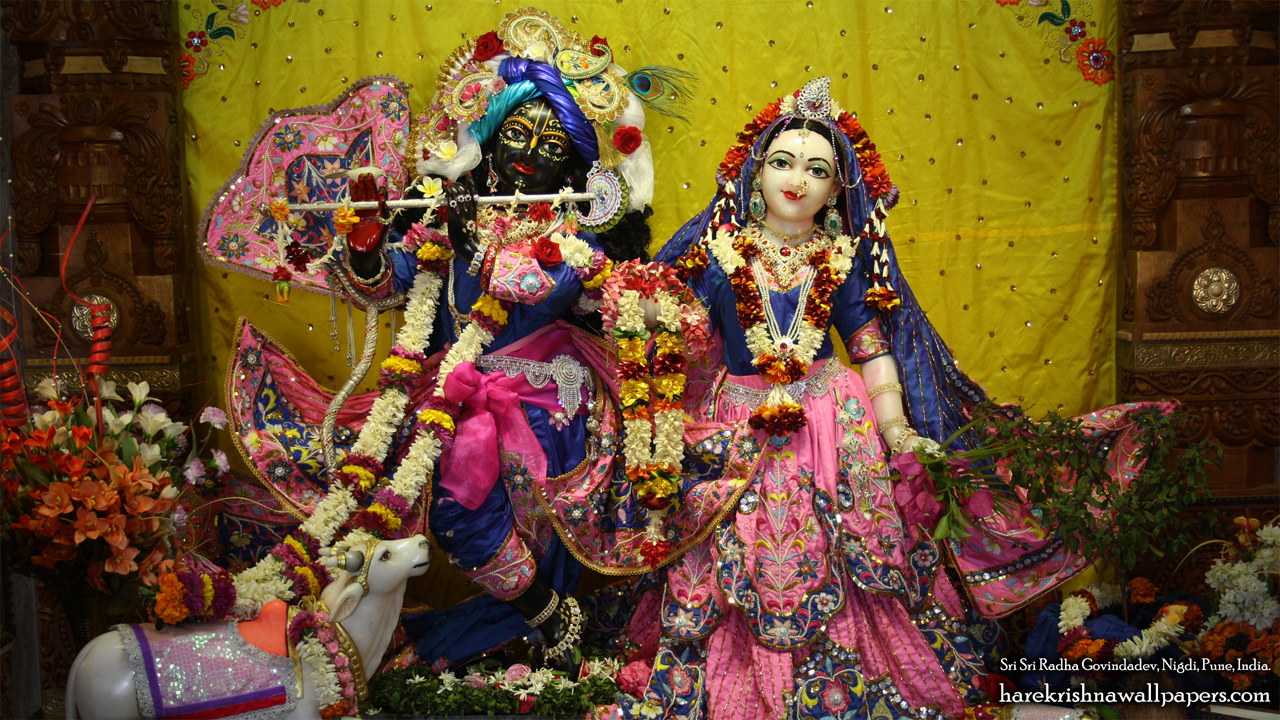 Sri Sri Radha Govind Wallpaper (018) Size 1280x720 Download