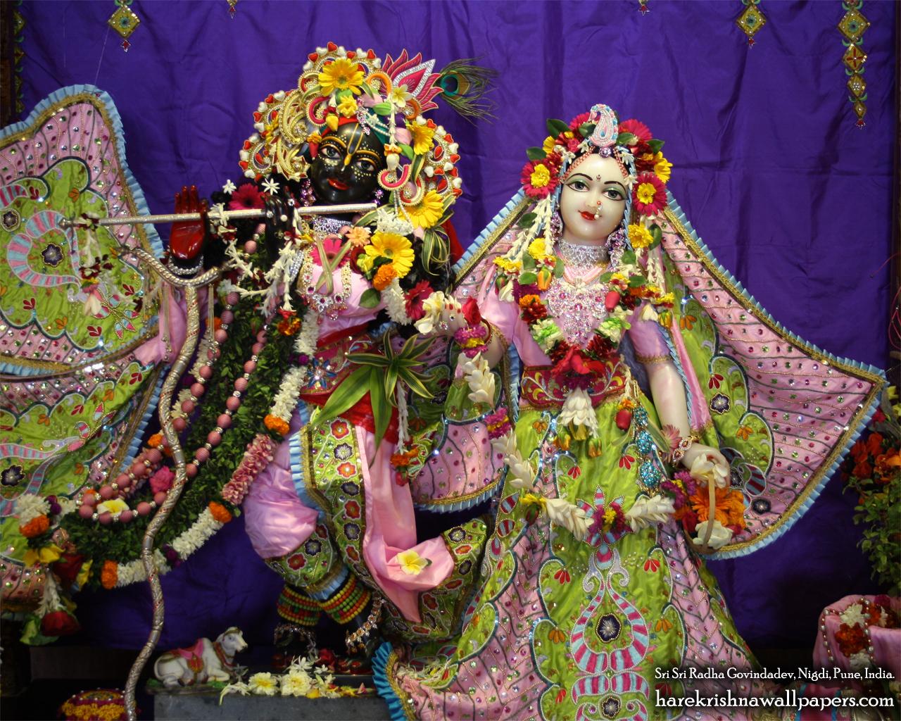 Sri Sri Radha Govind Wallpaper (019) Size 1280x1024 Download