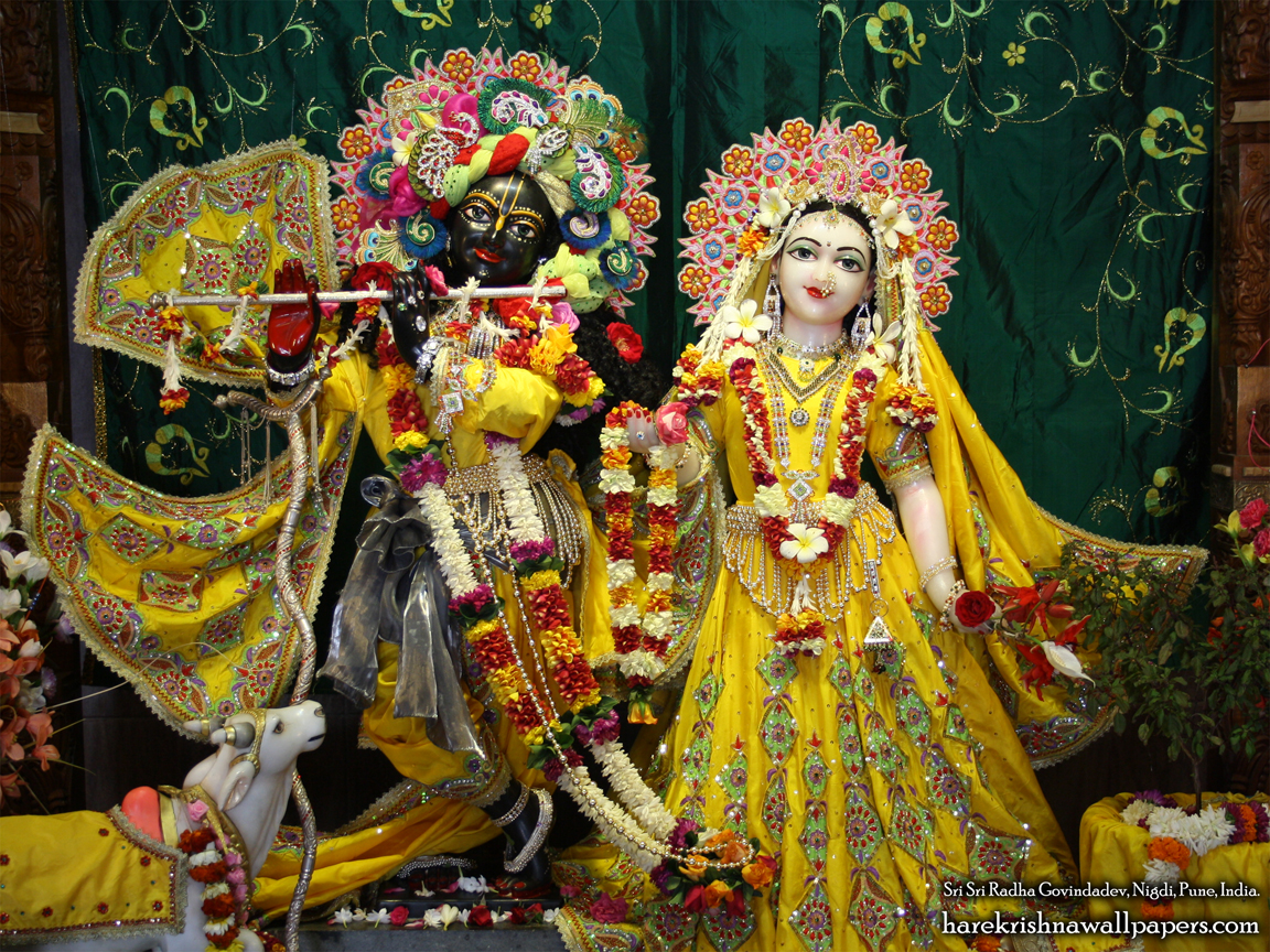 Sri Sri Radha Govind Wallpaper (020) Size 1152x864 Download