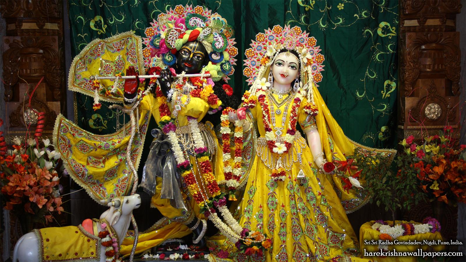 Sri Sri Radha Govind Wallpaper (020) Size 1600x900 Download