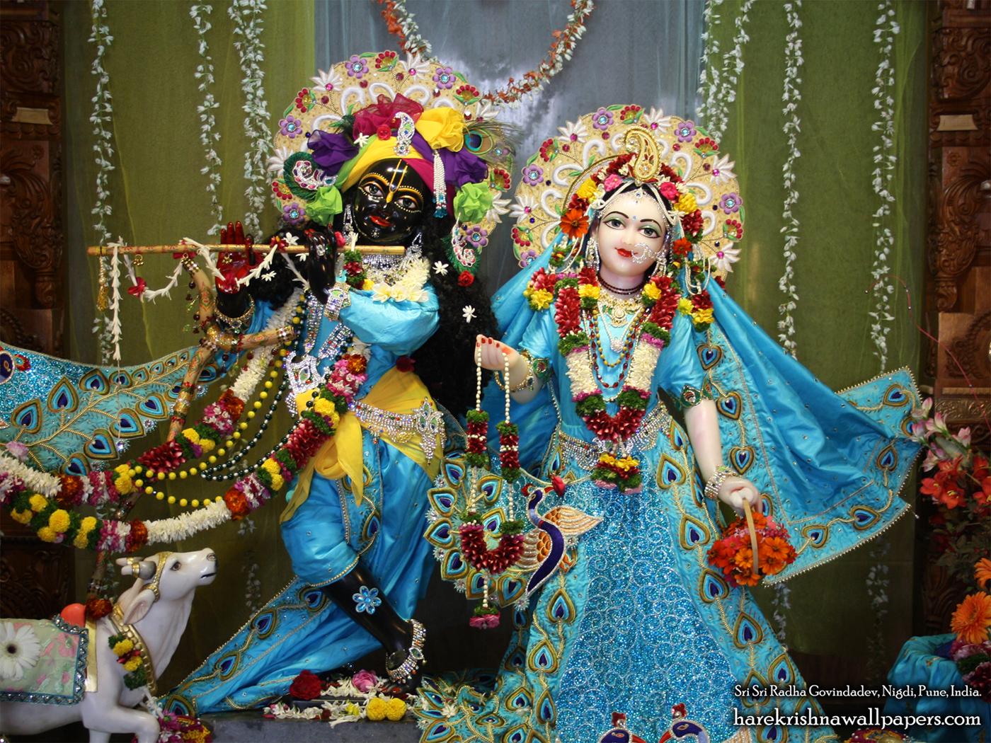 Sri Sri Radha Govind Wallpaper (021) Size 1400x1050 Download