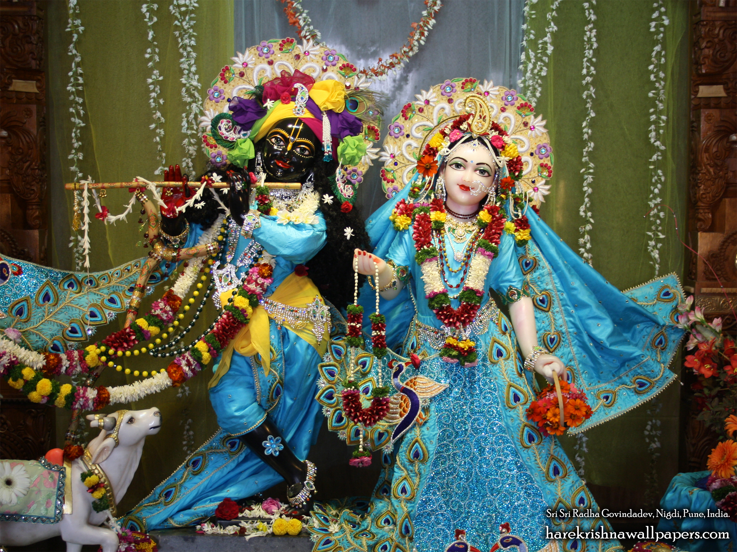 Sri Sri Radha Govind Wallpaper (021) Size 2400x1800 Download