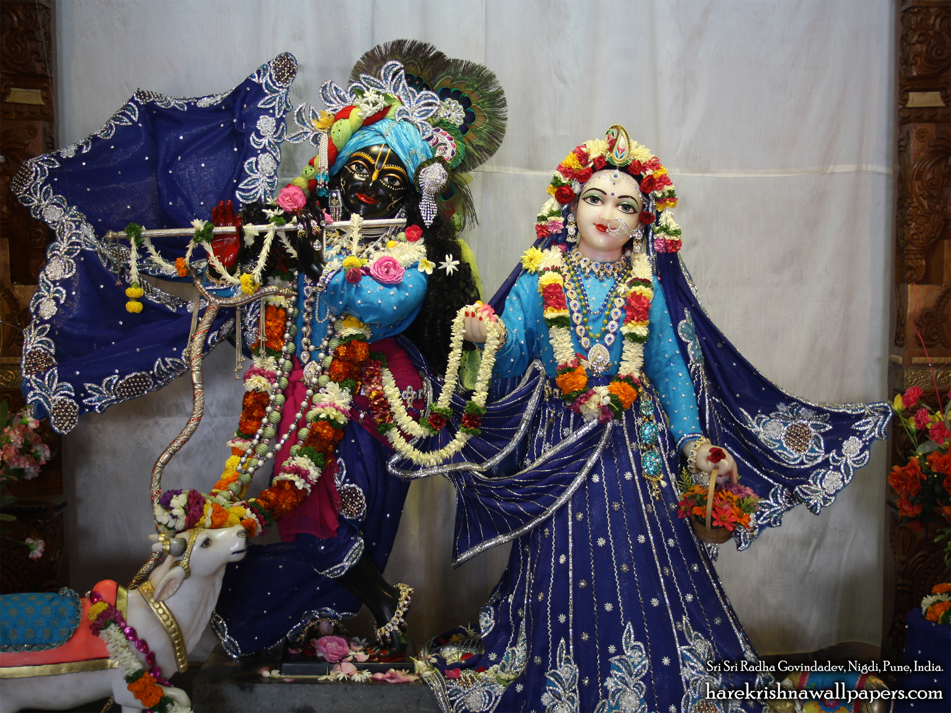 Sri Sri Radha Govind Wallpaper (022) Size 1920x1440 Download