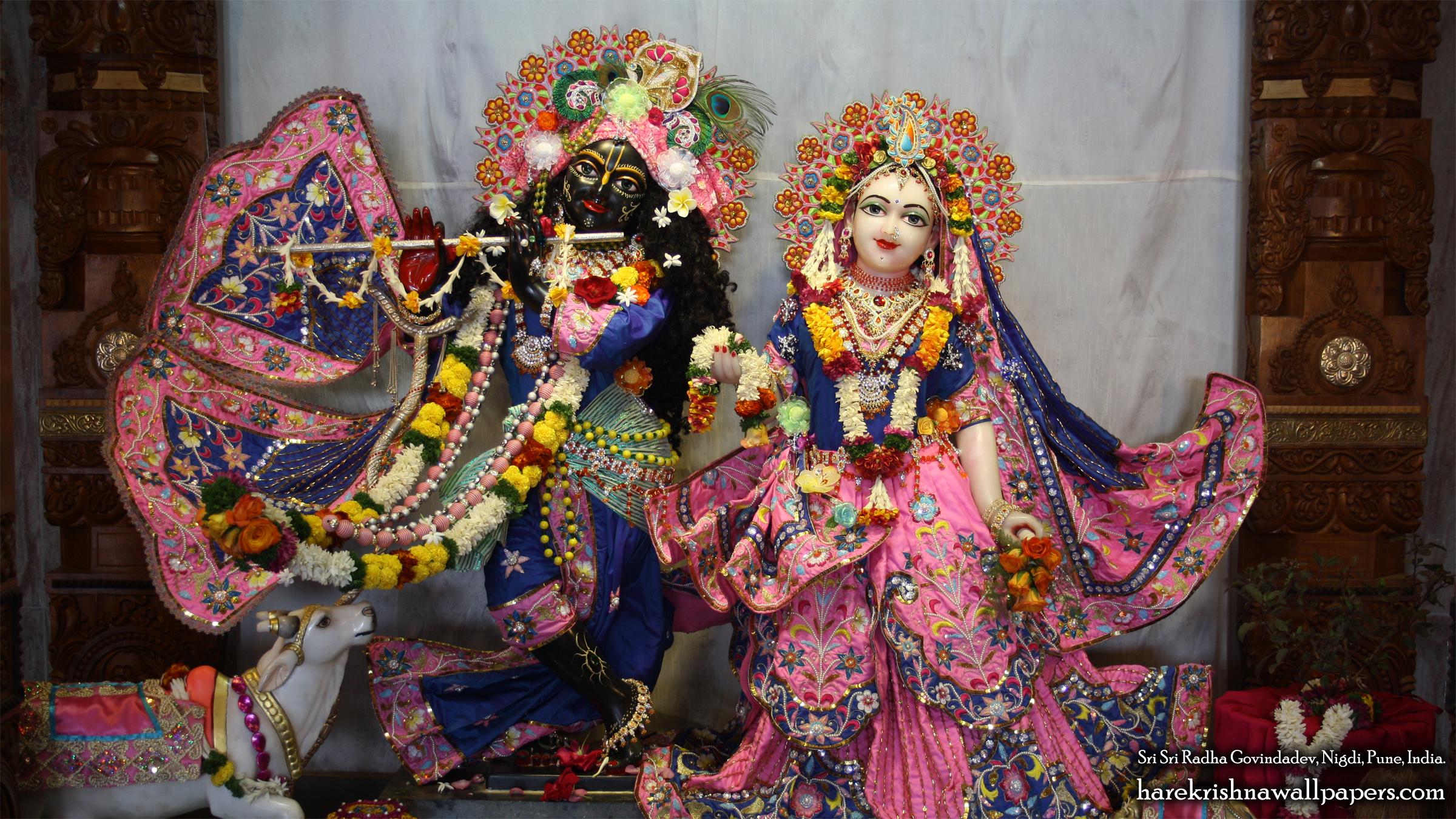 Sri Sri Radha Govind Wallpaper (023) Size 2400x1350 Download
