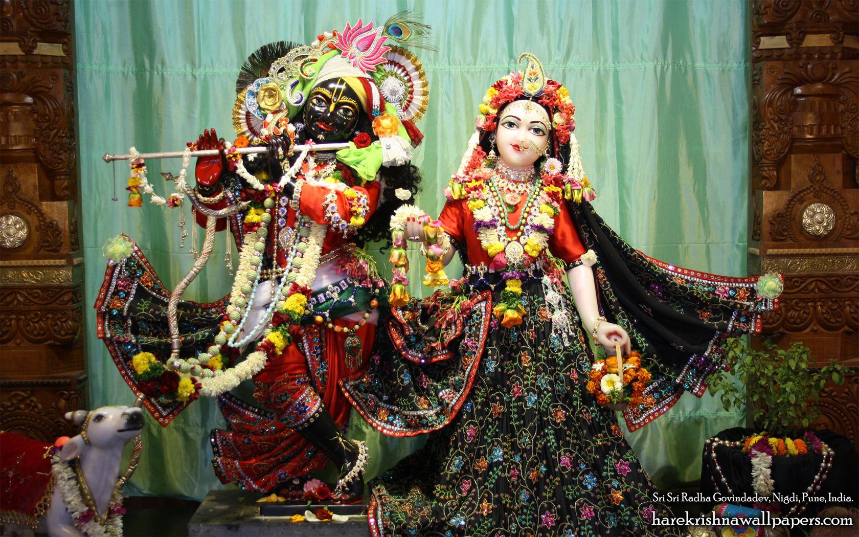 Sri Sri Radha Govind Wallpaper (024) Size 1680x1050 Download