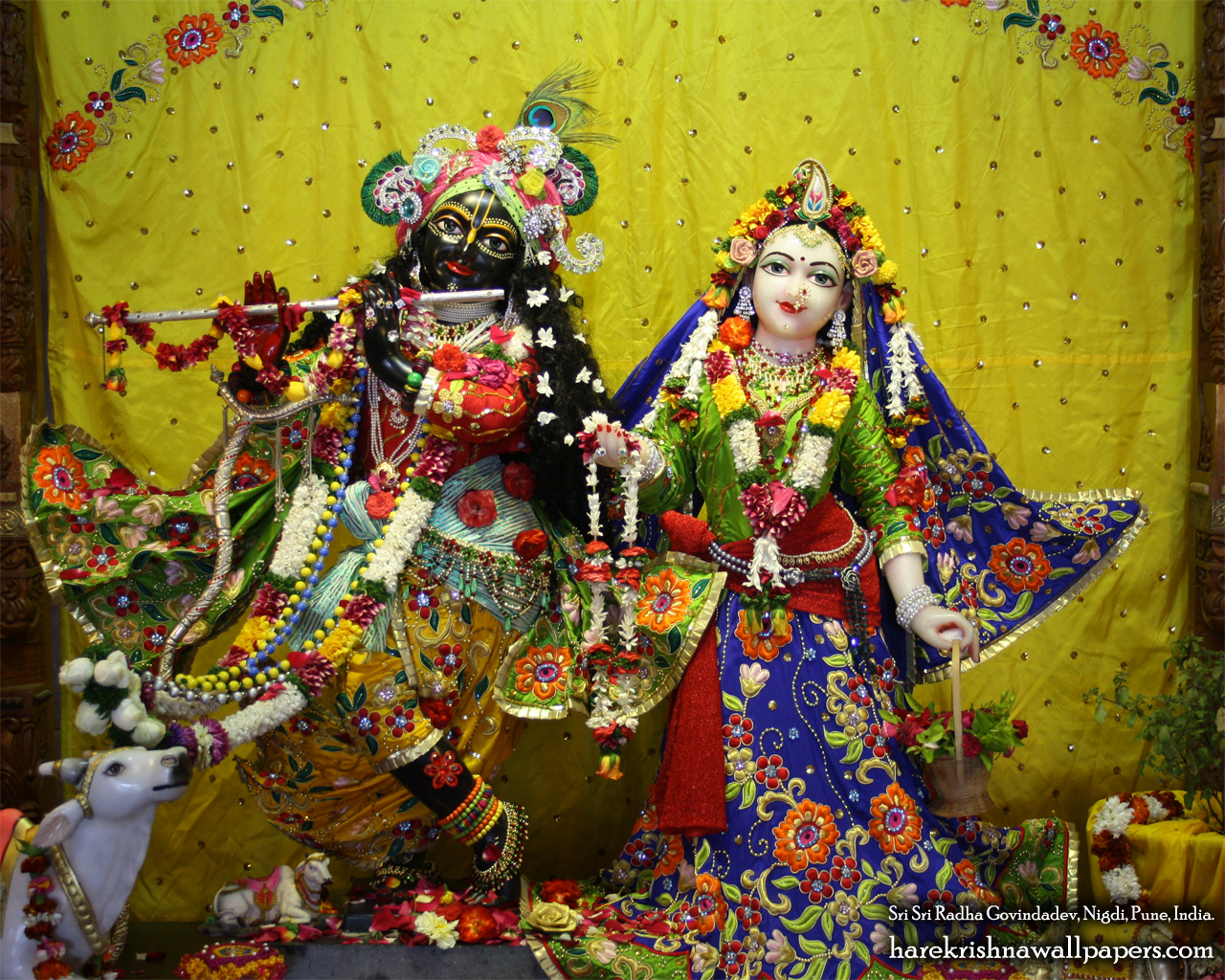 Sri Sri Radha Govind Wallpaper (026) Size 1280x1024 Download