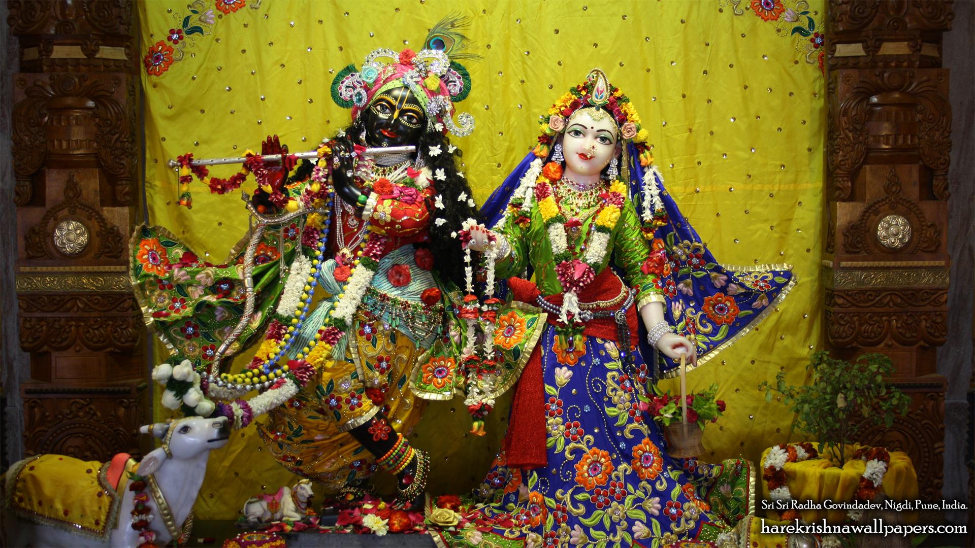 Sri Sri Radha Govind Wallpaper (026) Size 1920x1080 Download