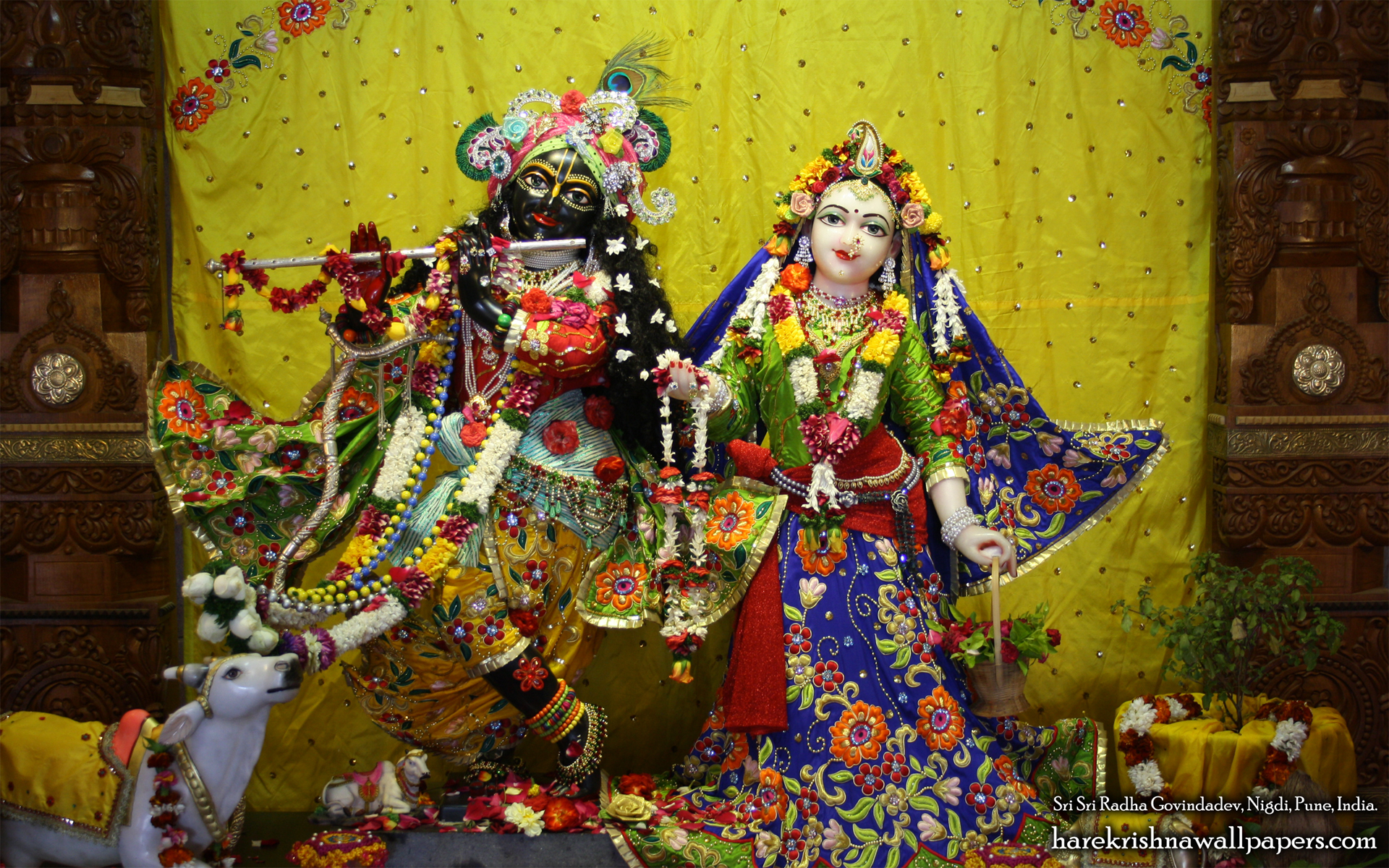 Sri Sri Radha Govind Wallpaper (026) Size 1920x1200 Download