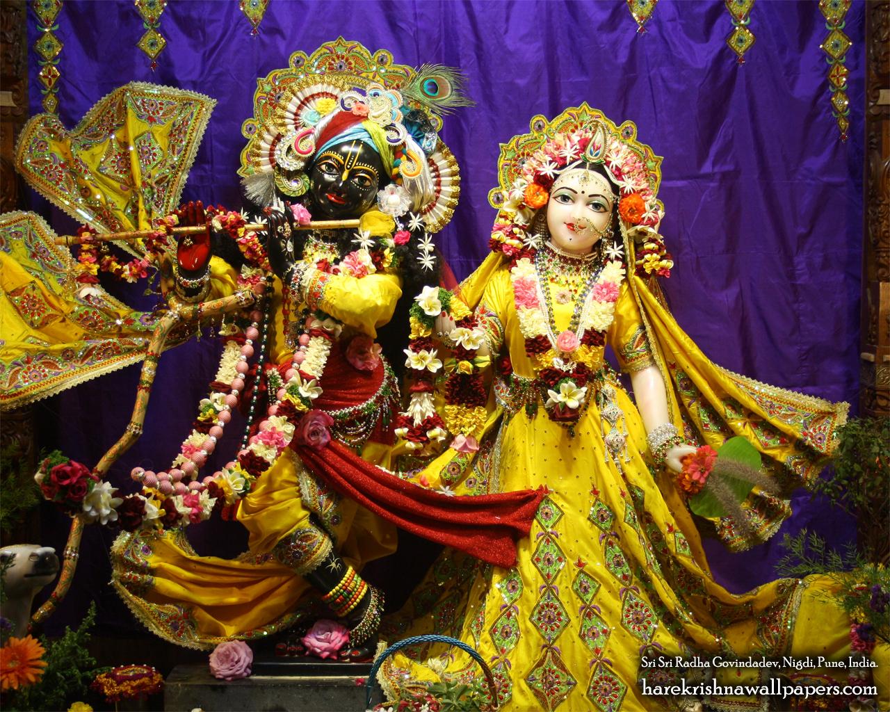 Sri Sri Radha Govind Wallpaper (028) Size 1280x1024 Download