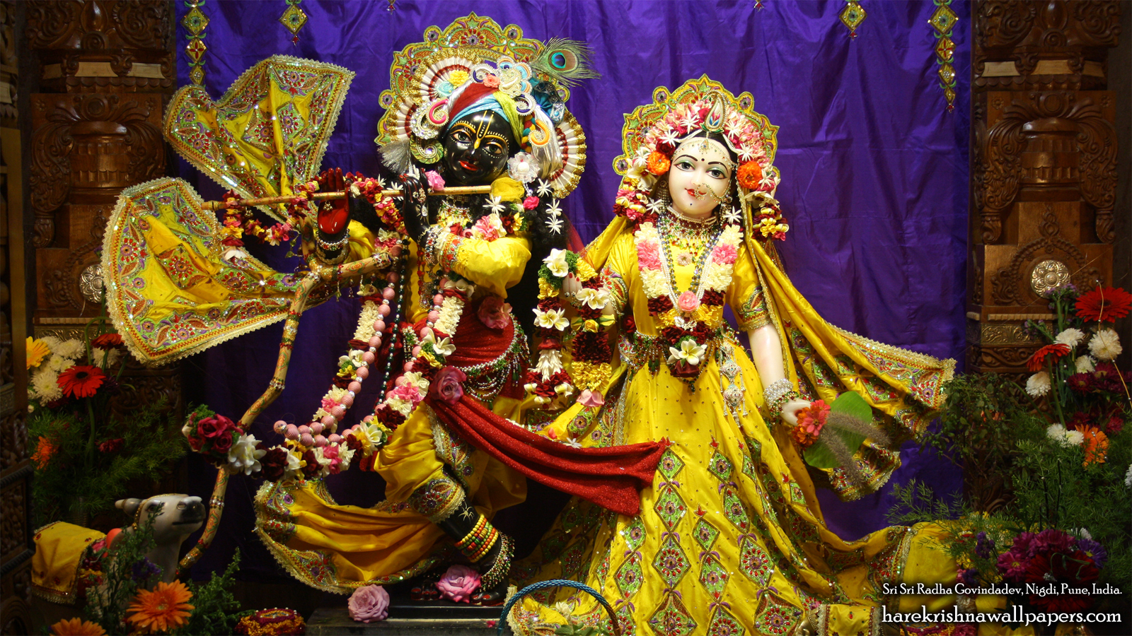 Sri Sri Radha Govind Wallpaper (028) Size 1600x900 Download