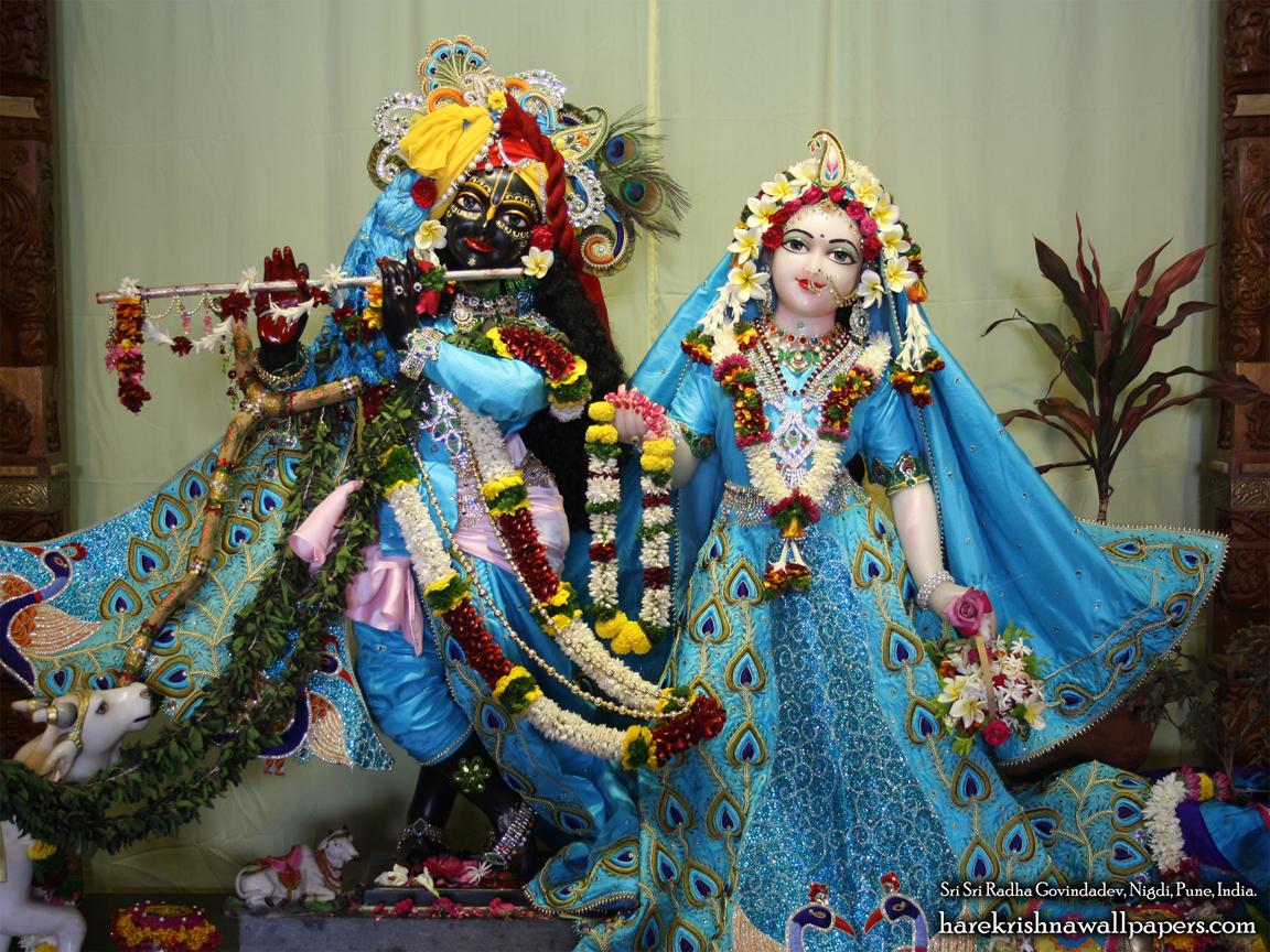 Sri Sri Radha Govind Wallpaper (030) Size 1152x864 Download