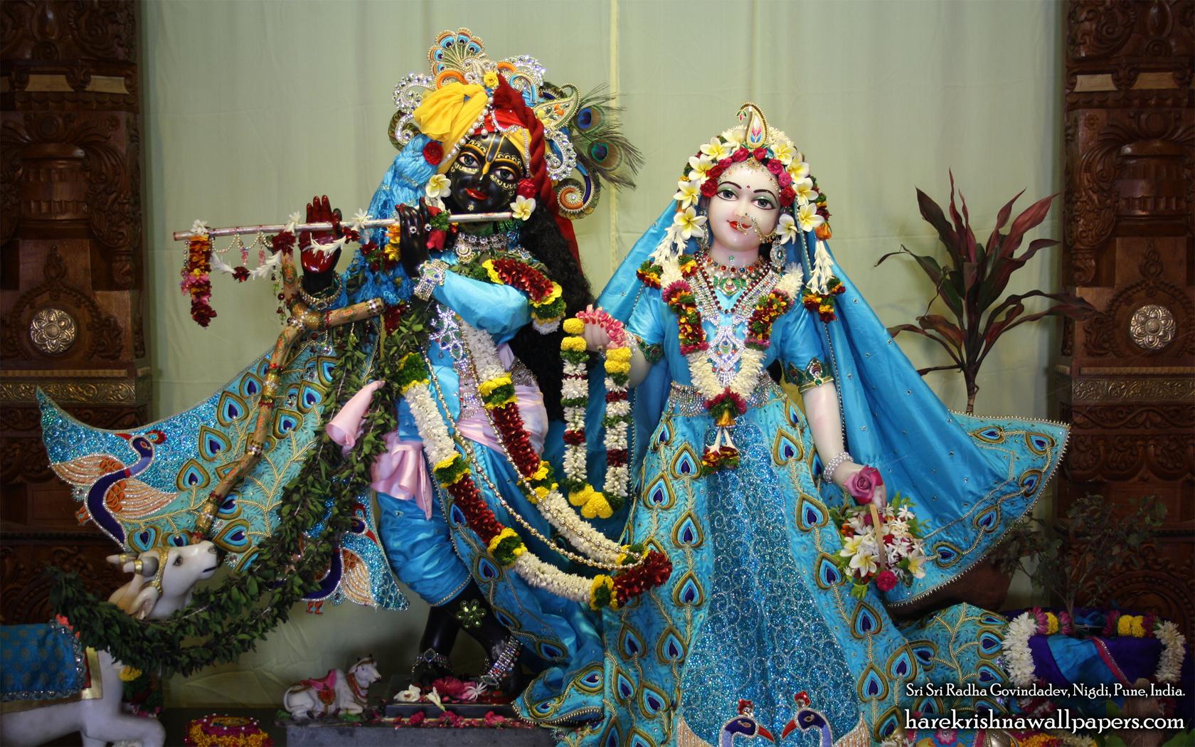 Sri Sri Radha Govind Wallpaper (030) Size 1680x1050 Download