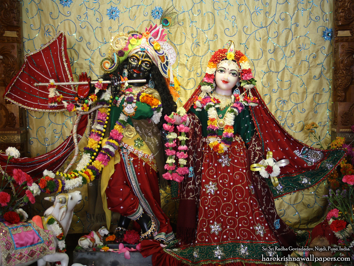 Sri Sri Radha Govind Wallpaper (031) Size 1200x900 Download