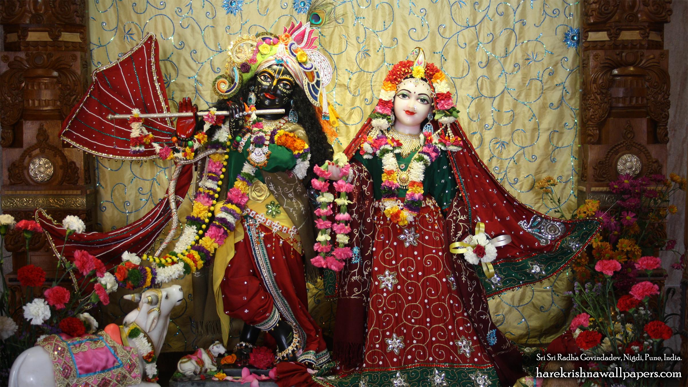 Sri Sri Radha Govind Wallpaper (031) Size 2400x1350 Download