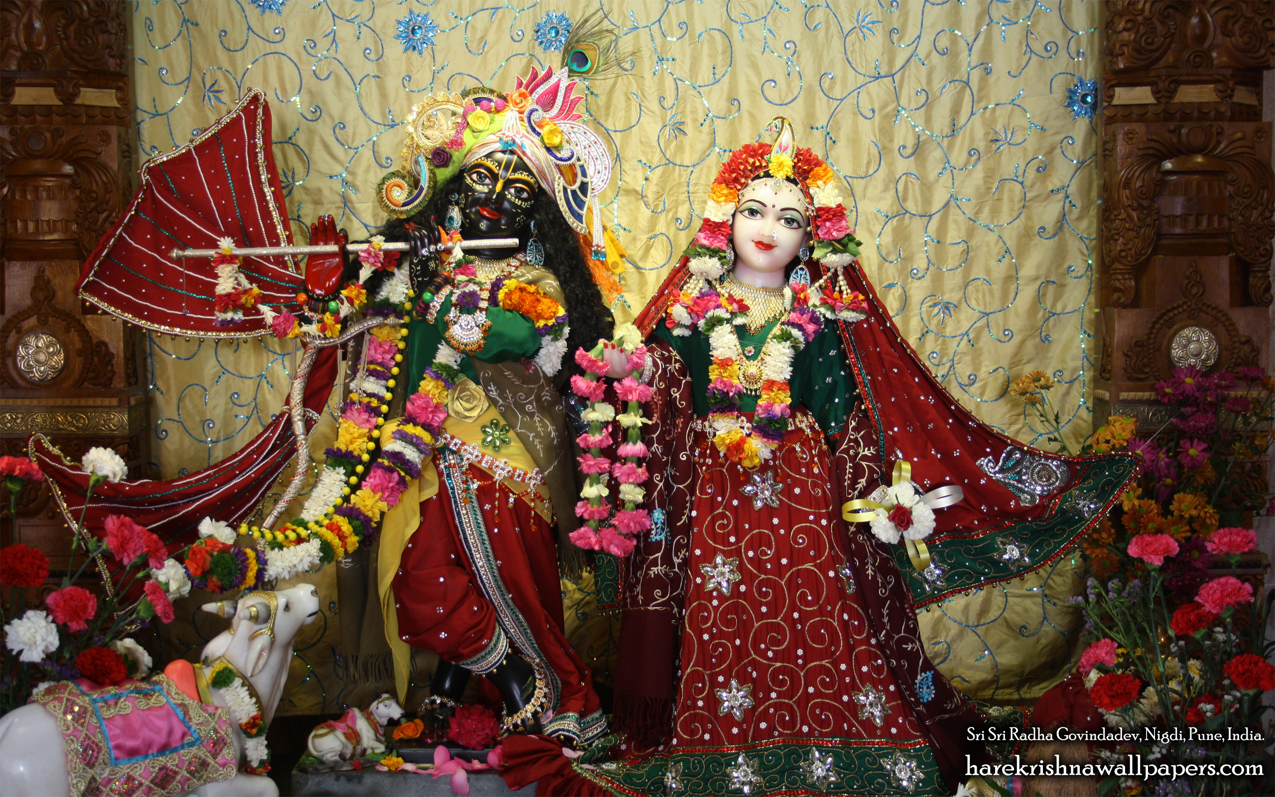 Sri Sri Radha Govind Wallpaper (031) Size 2560x1600 Download