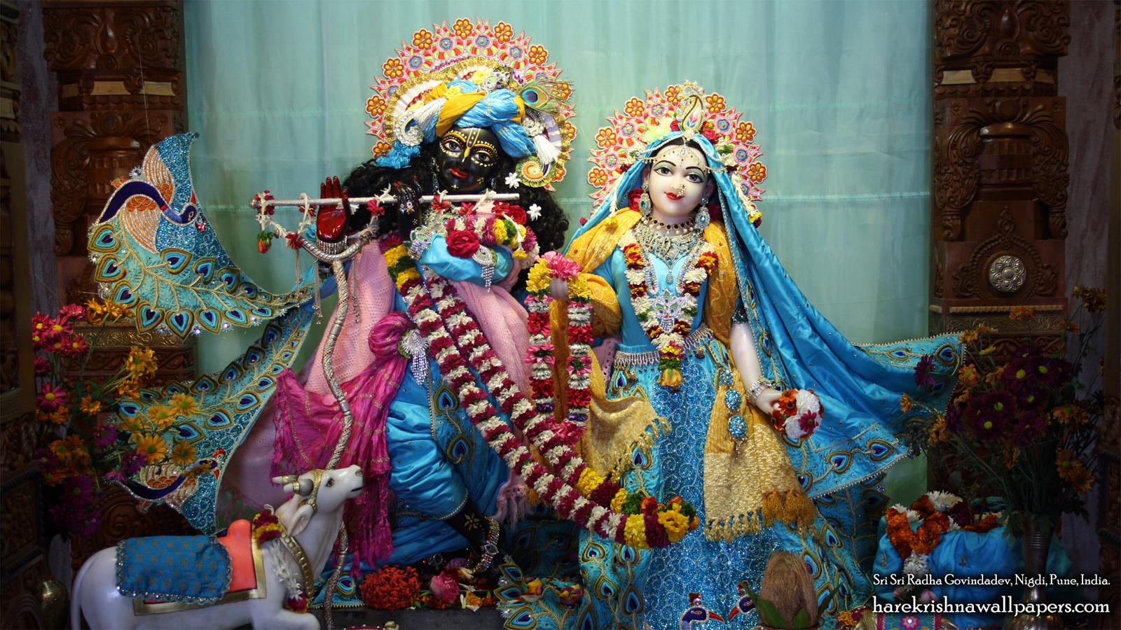 Sri Sri Radha Govind Wallpaper (032) Size 1600x900 Download