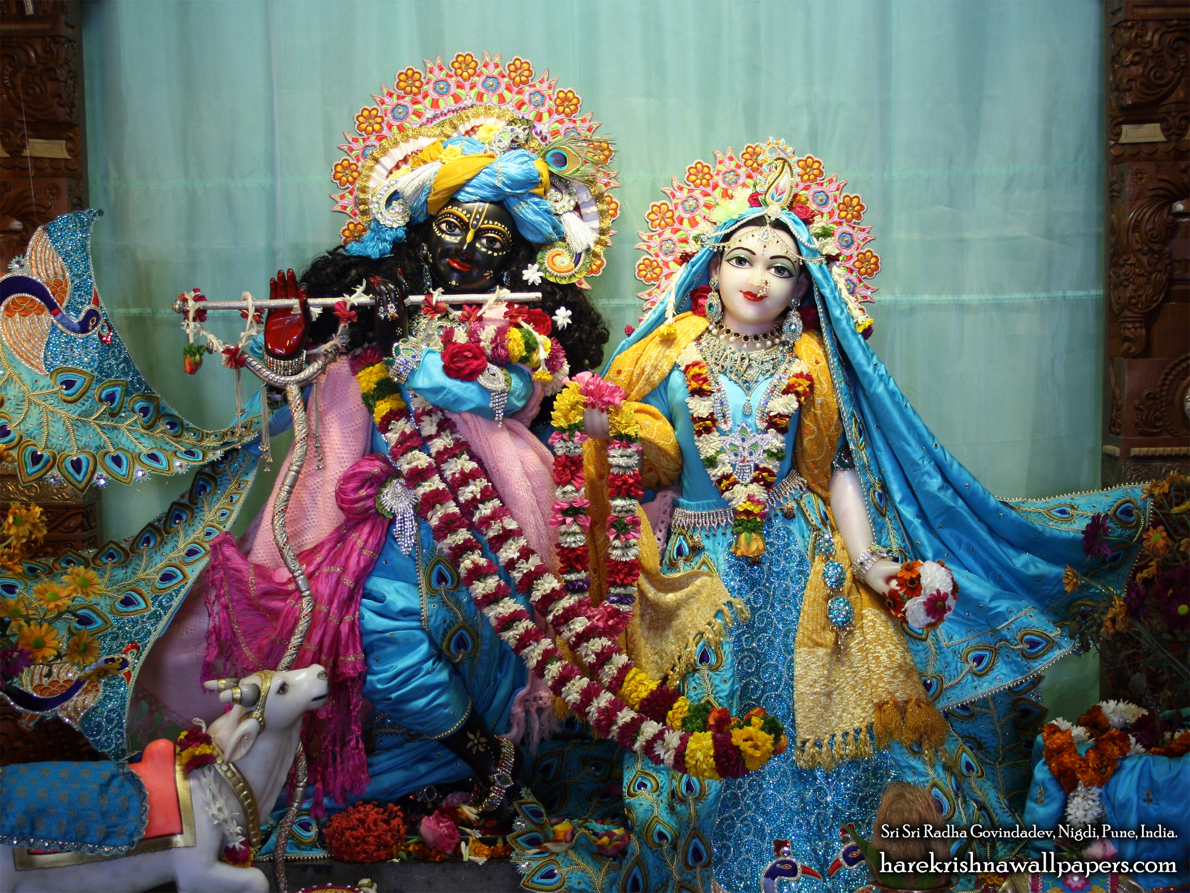 Sri Sri Radha Govind Wallpaper (032) Size 2400x1800 Download