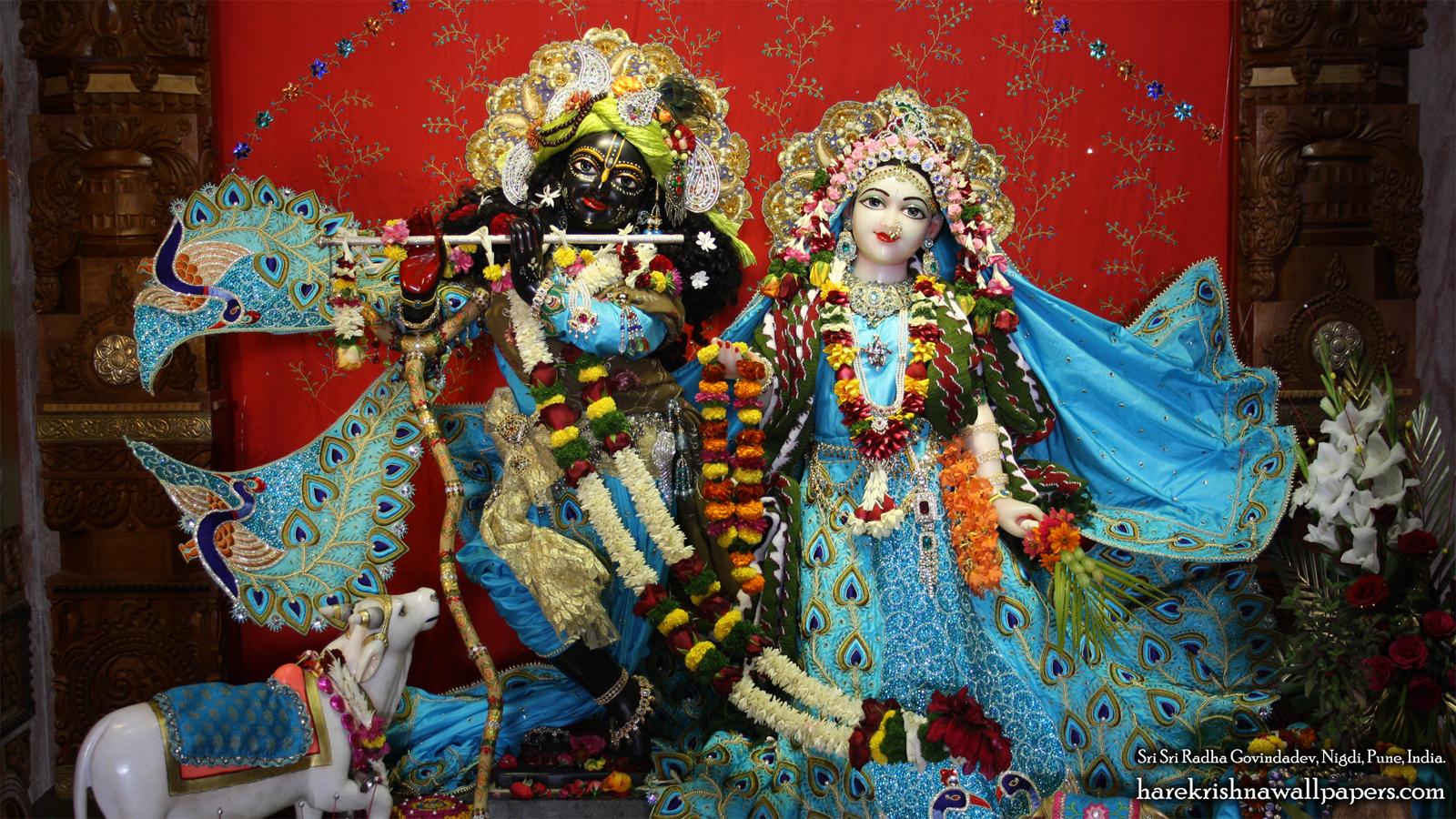 Sri Sri Radha Govind Wallpaper (033) Size 1600x900 Download