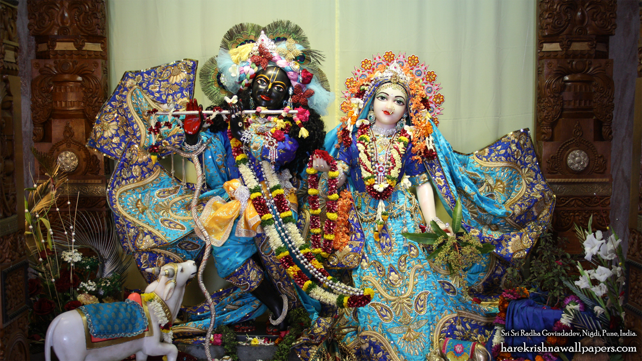 Sri Sri Radha Govind Wallpaper (035) Size 1280x720 Download