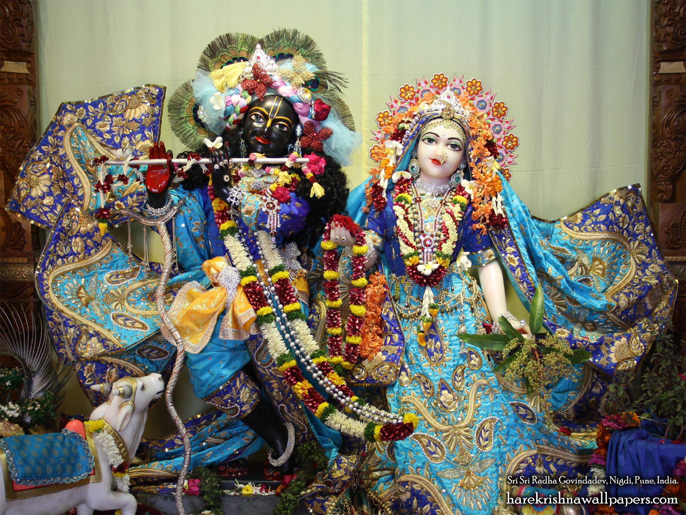 Sri Sri Radha Govind Wallpaper (035) Size 2400x1800 Download