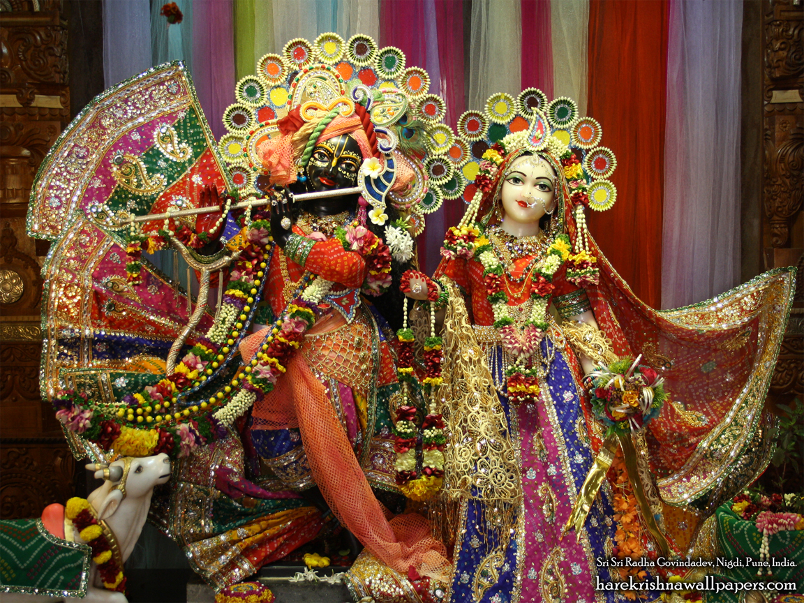 Sri Sri Radha Govind Wallpaper (036) Size 1152x864 Download