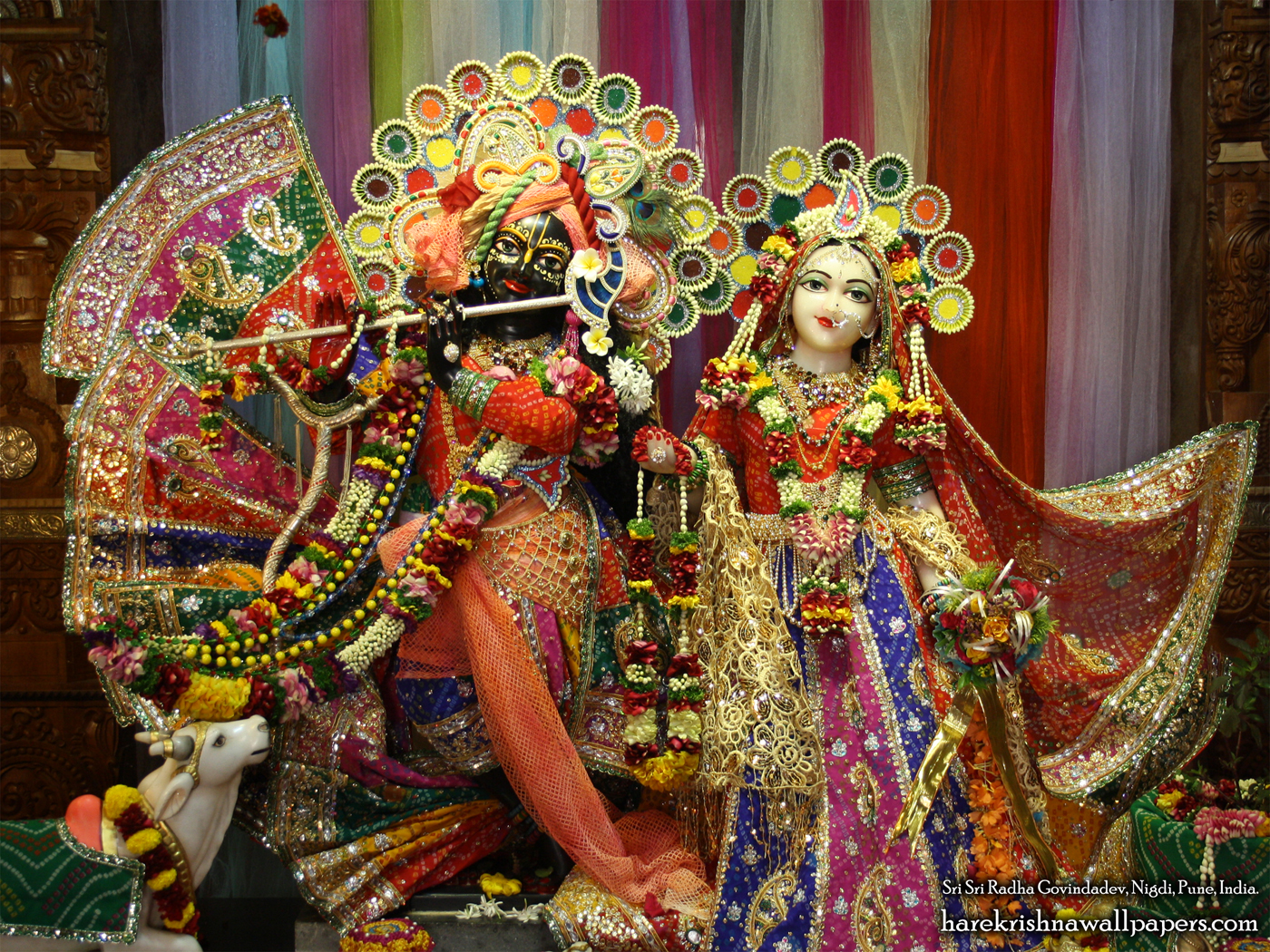Sri Sri Radha Govind Wallpaper (036) Size 1400x1050 Download