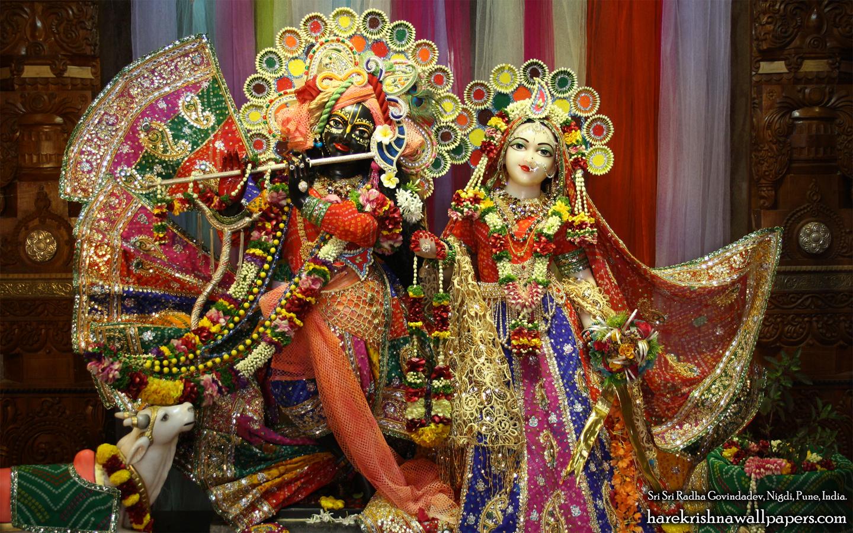 Sri Sri Radha Govind Wallpaper (036) Size 1440x900 Download