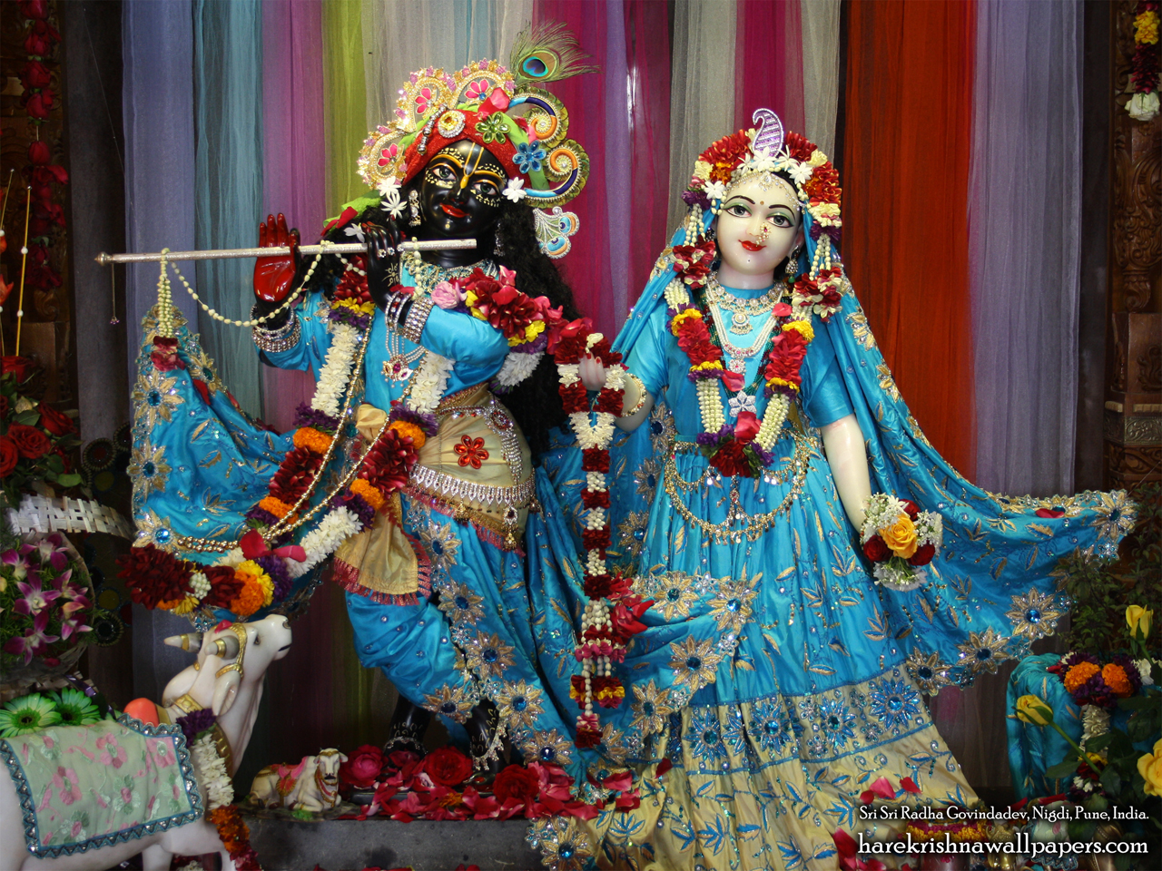 Sri Sri Radha Govind Wallpaper (037) Size 1280x960 Download