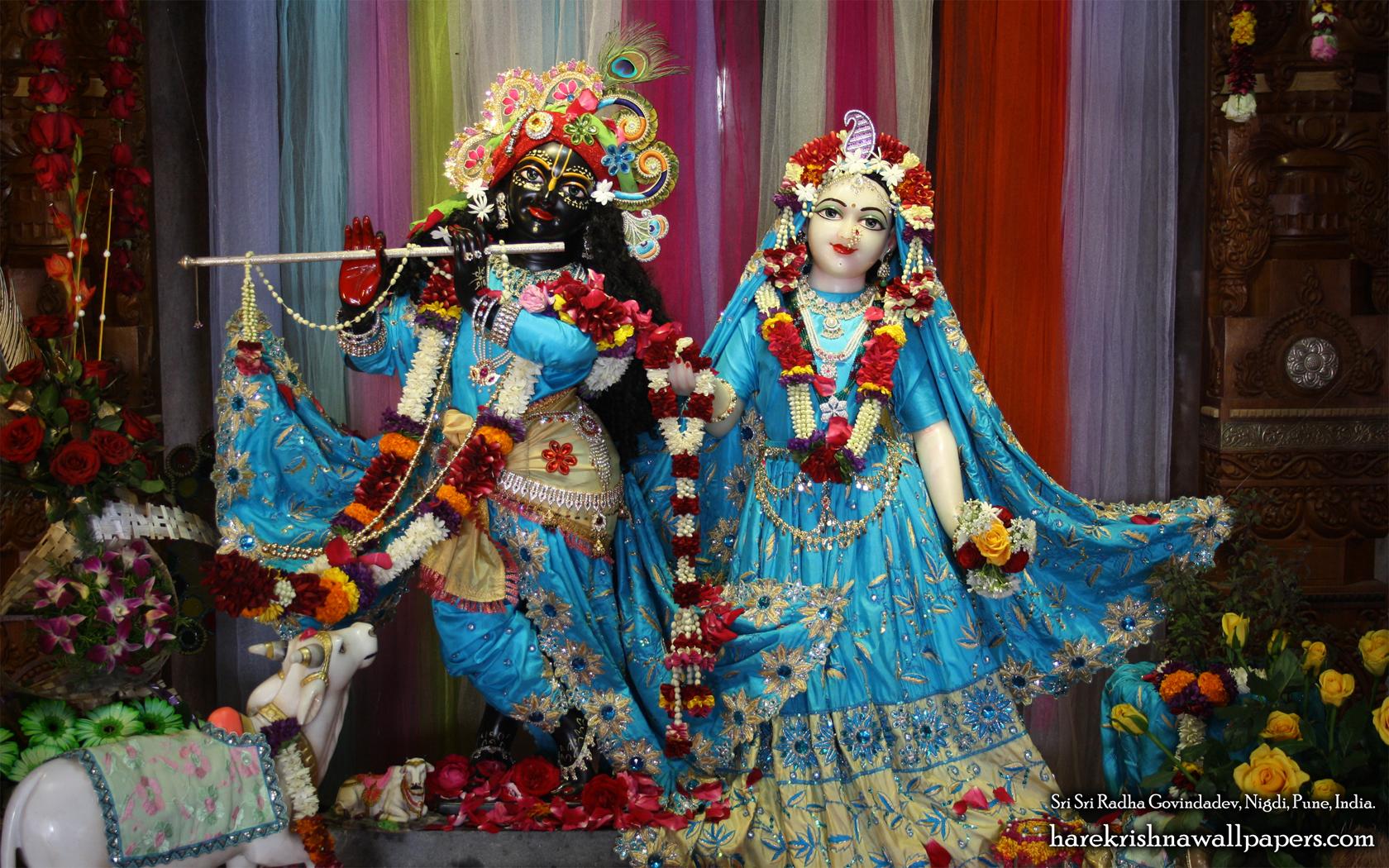 Sri Sri Radha Govind Wallpaper (037) Size 1680x1050 Download